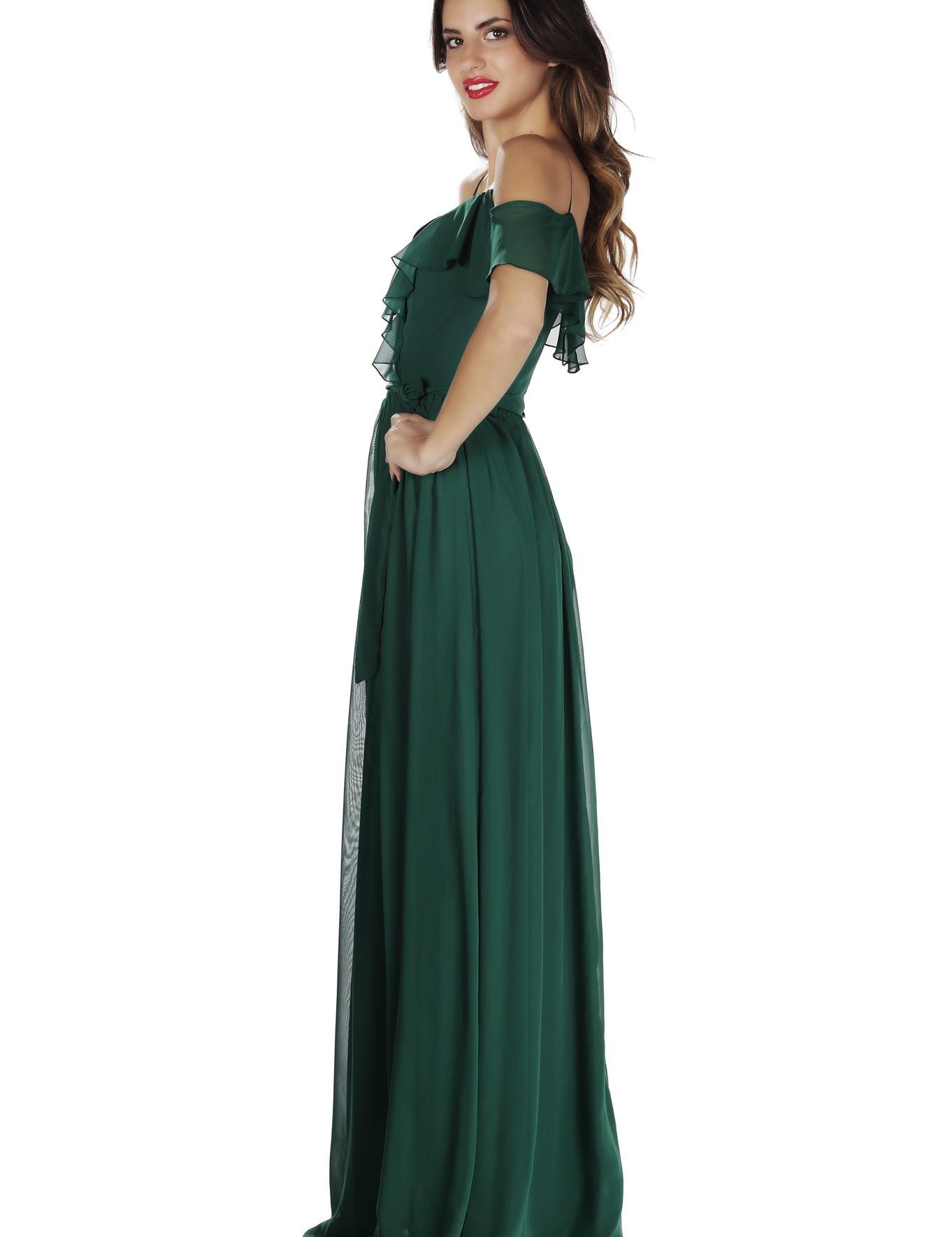 YESIL Uzun Abiye Elbise