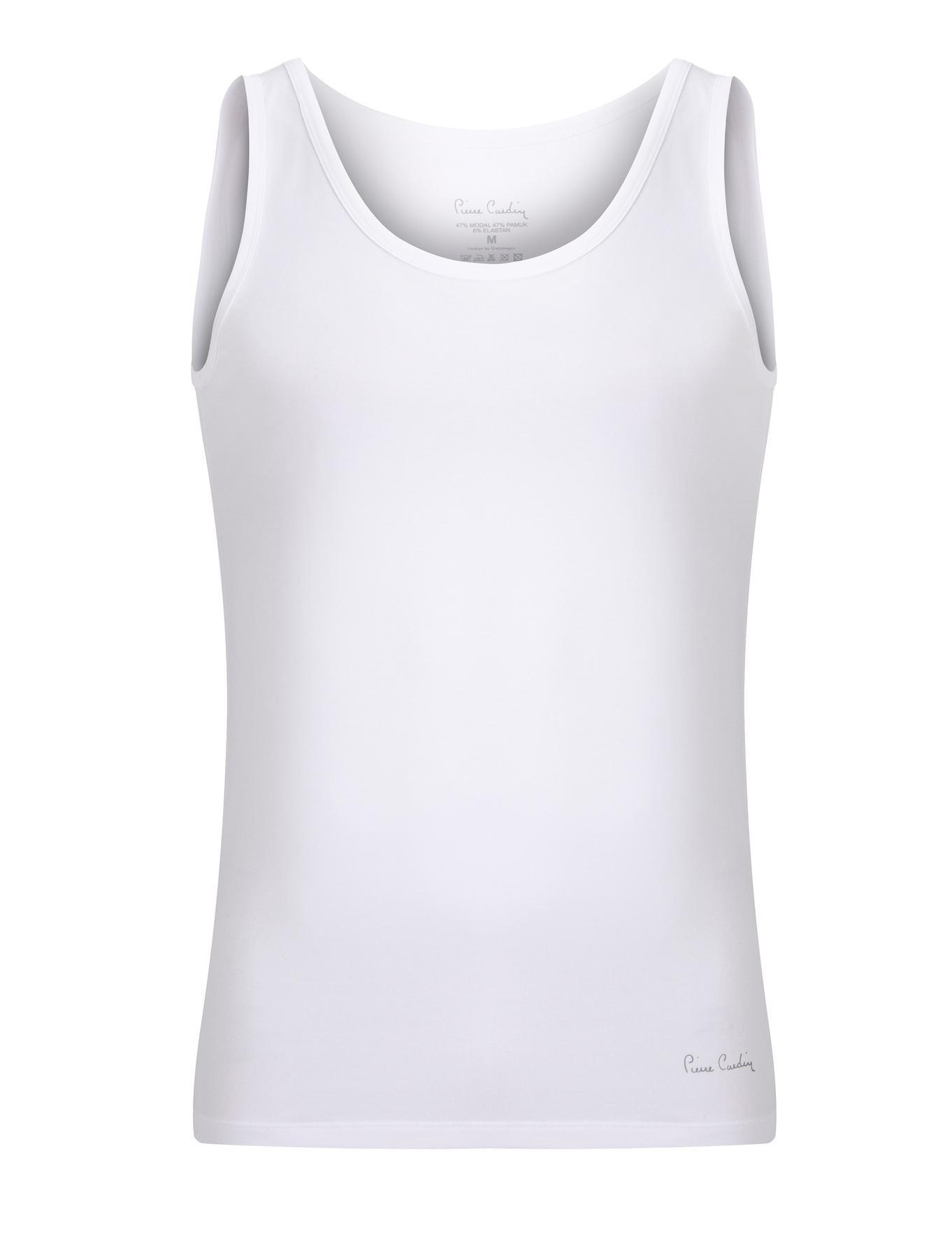Beyaz 2'li Atlet | Pierre Cardin