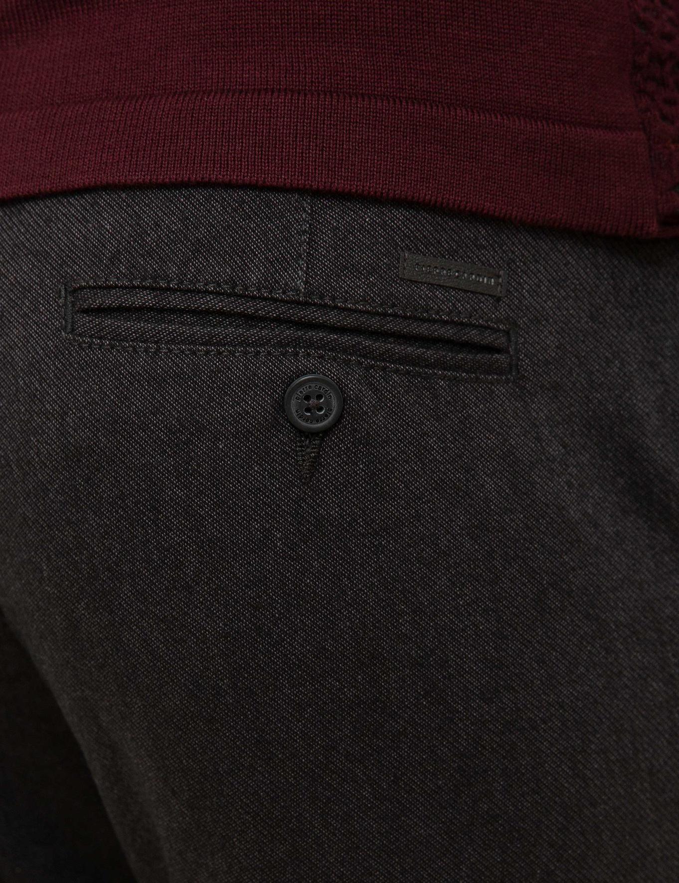 Antrasit Regular Fit Chino Pantolon