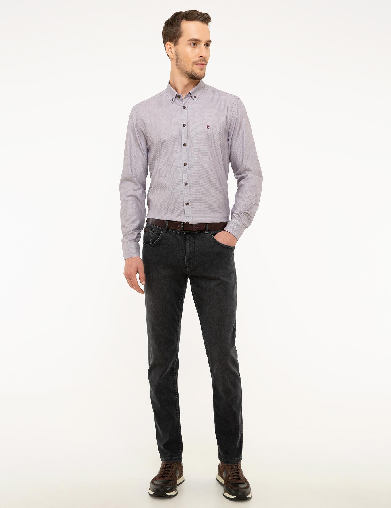 Füme Slim Fit Denim Pantolon
