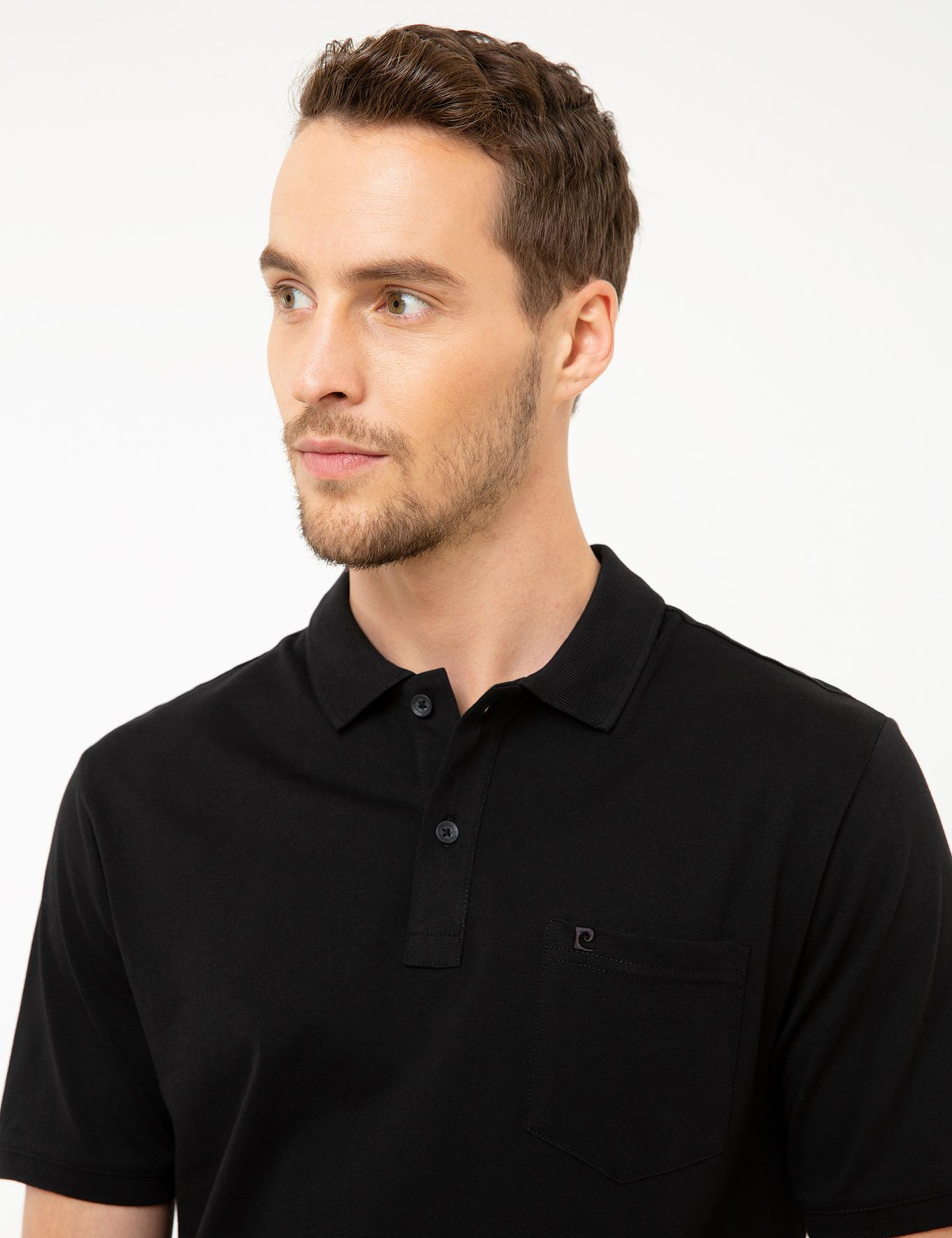 Siyah Regular Fit T-Shirt