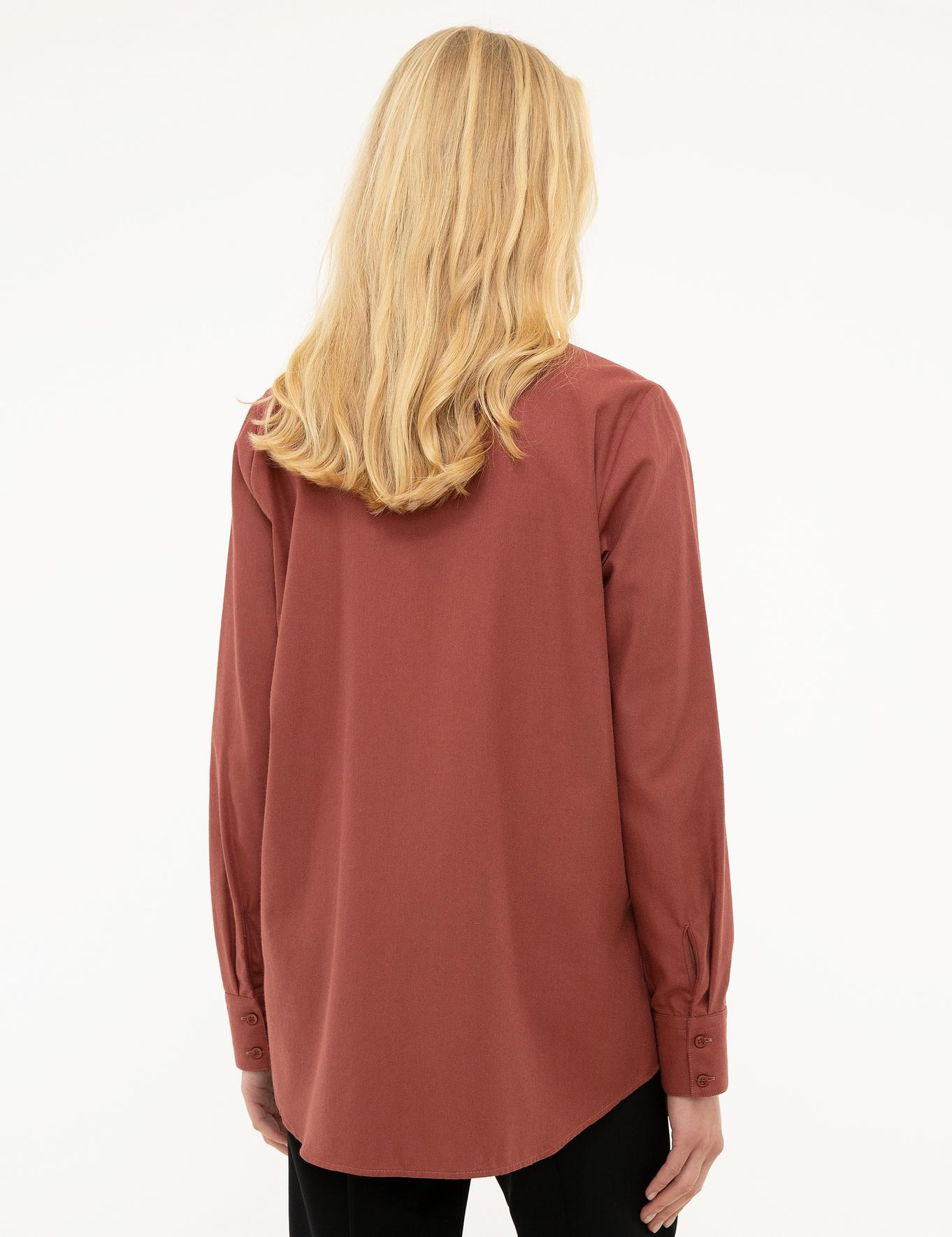 Kırmızı Dokuma Gömlek