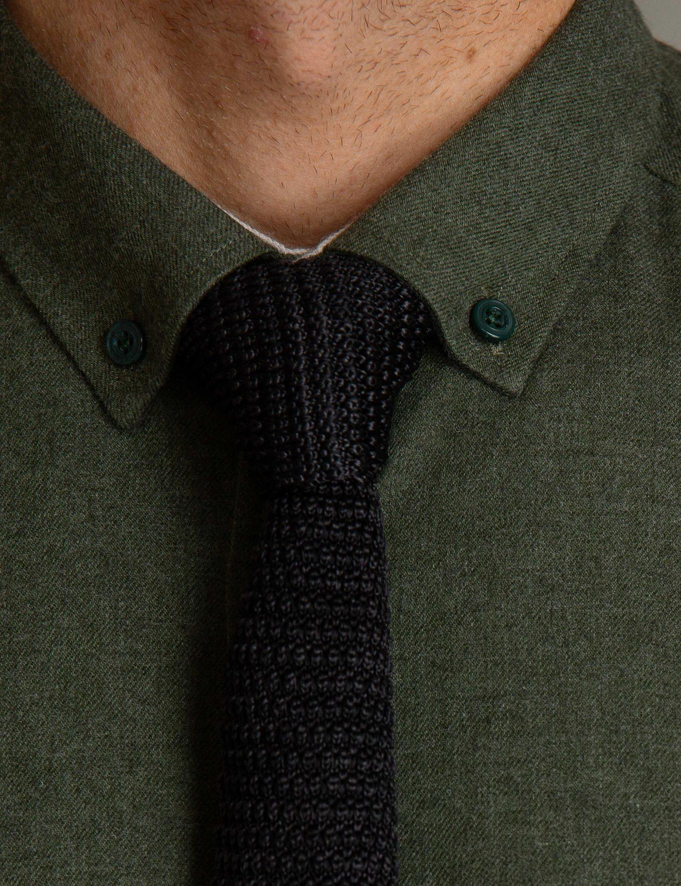 Yeşil Regular Fit Gömlek