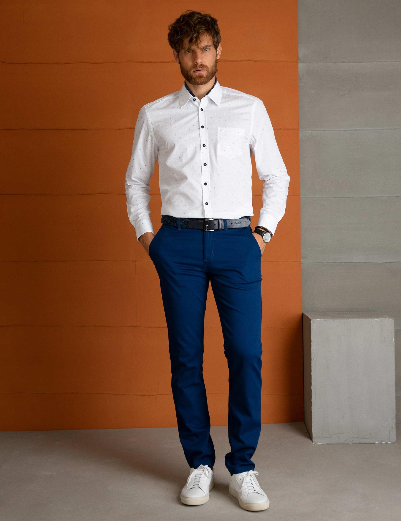 Beyaz Regular Fit Gömlek