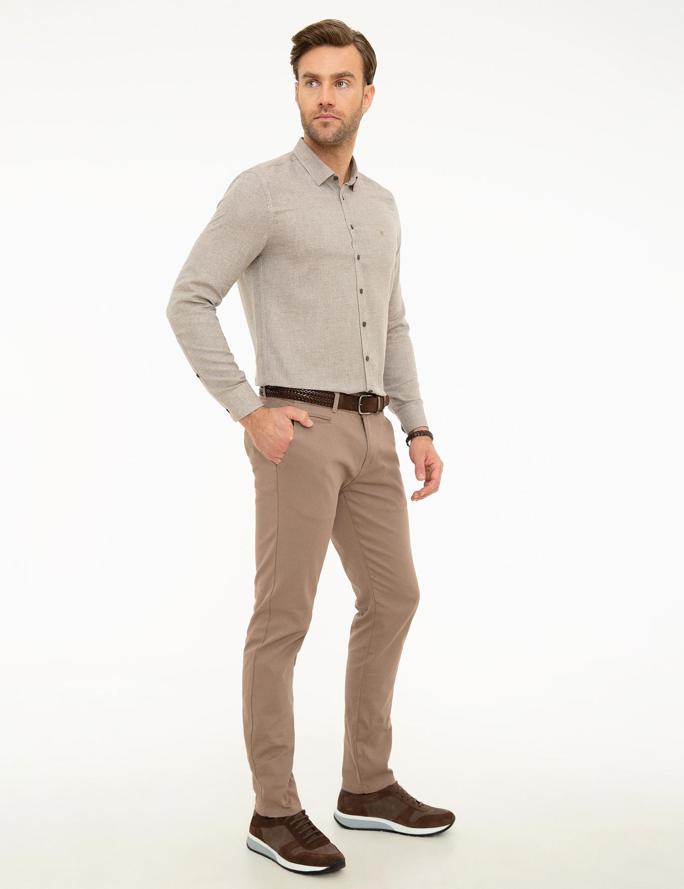 Vizon Slim Fit Chino Pantolon