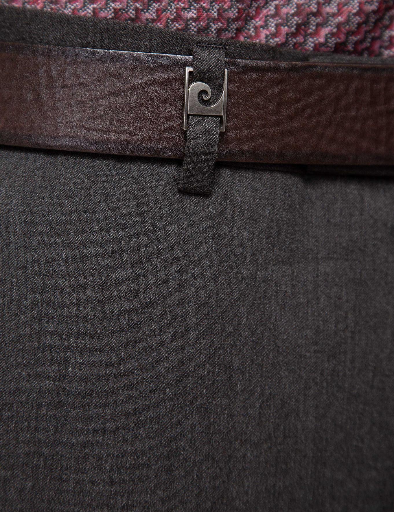 Kahverengi Slim Fit Pantolon