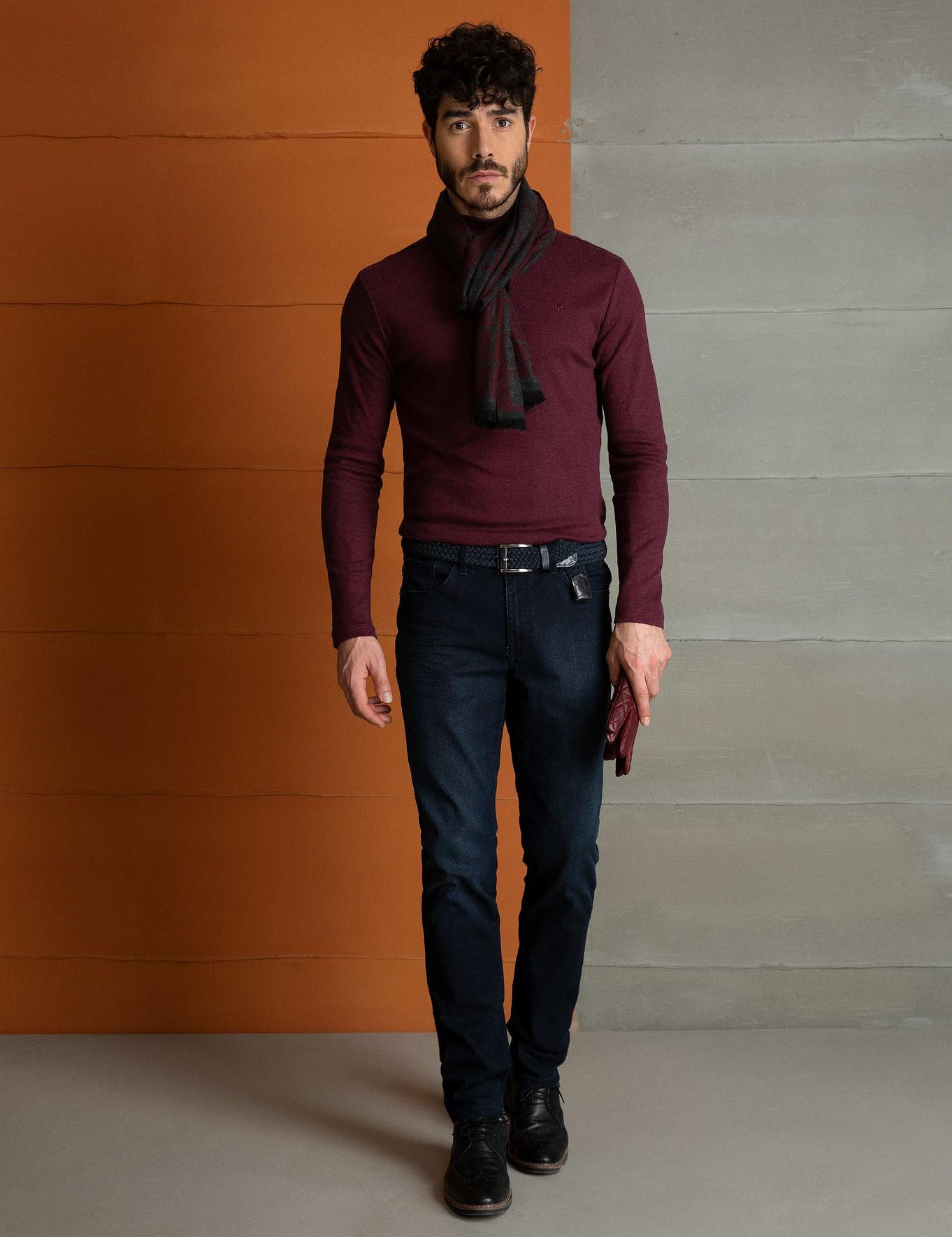 Bordo Slim Fit Sweatshirt