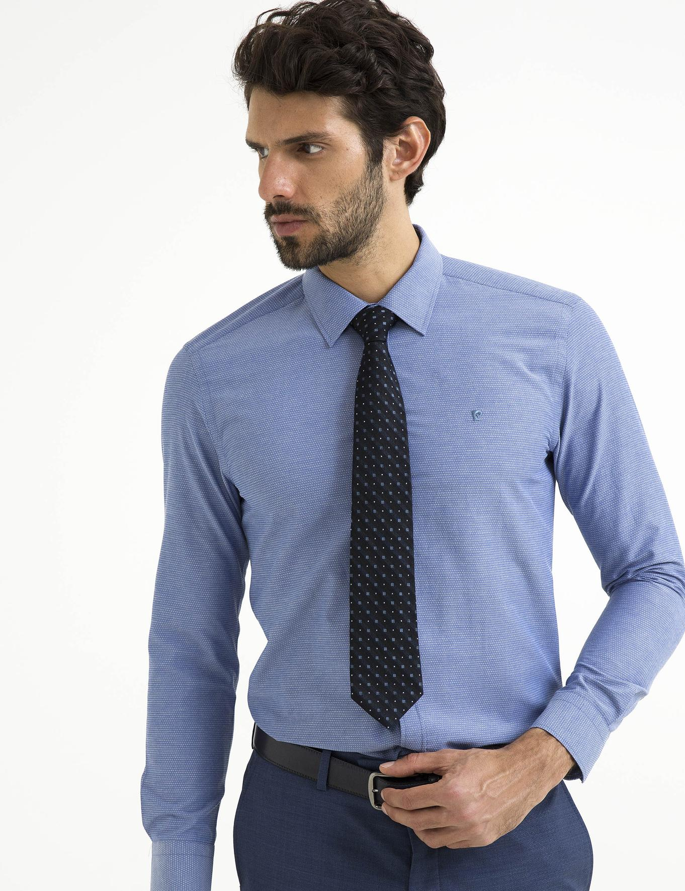 İndigo Slim Fit Gömlek