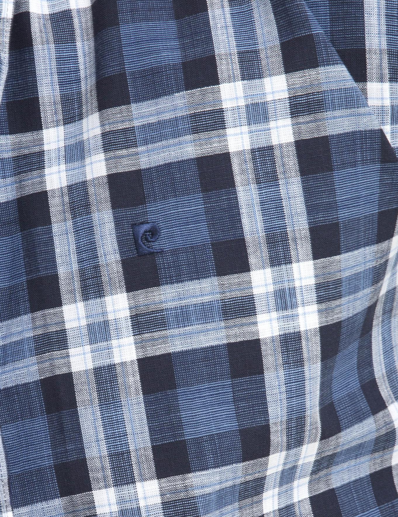Slim Lacivert Gömlek