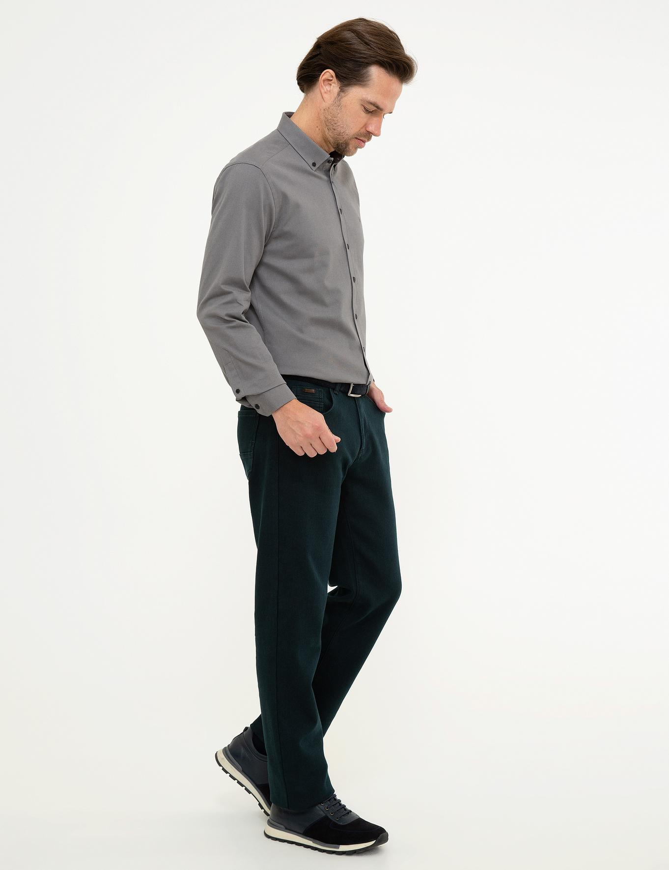 Haki Denim Pantolon