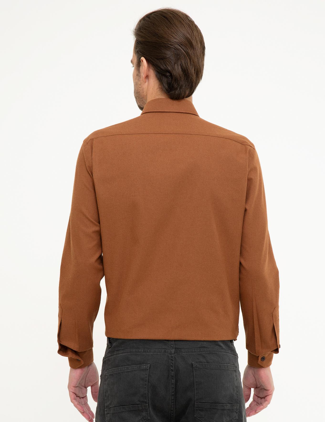 Camel Regular Fit Gömlek