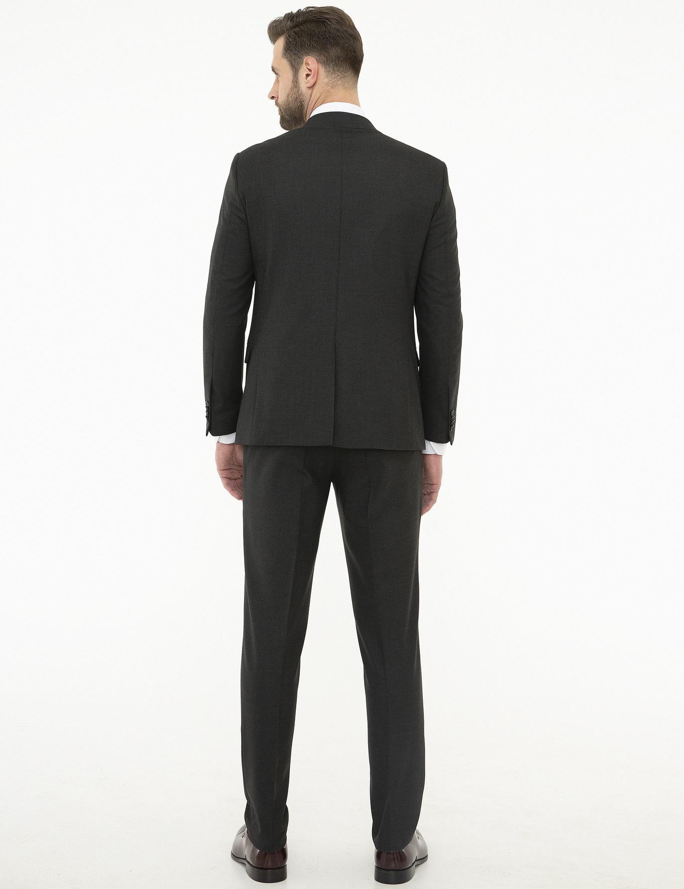Siyah Ekstra Slim Fit Takım Elbise