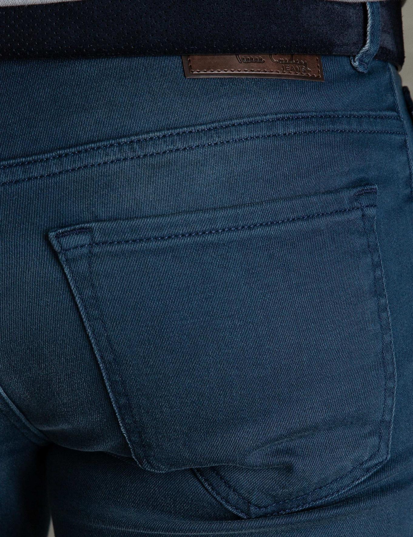 Koyu Mavi Denim Pantolon