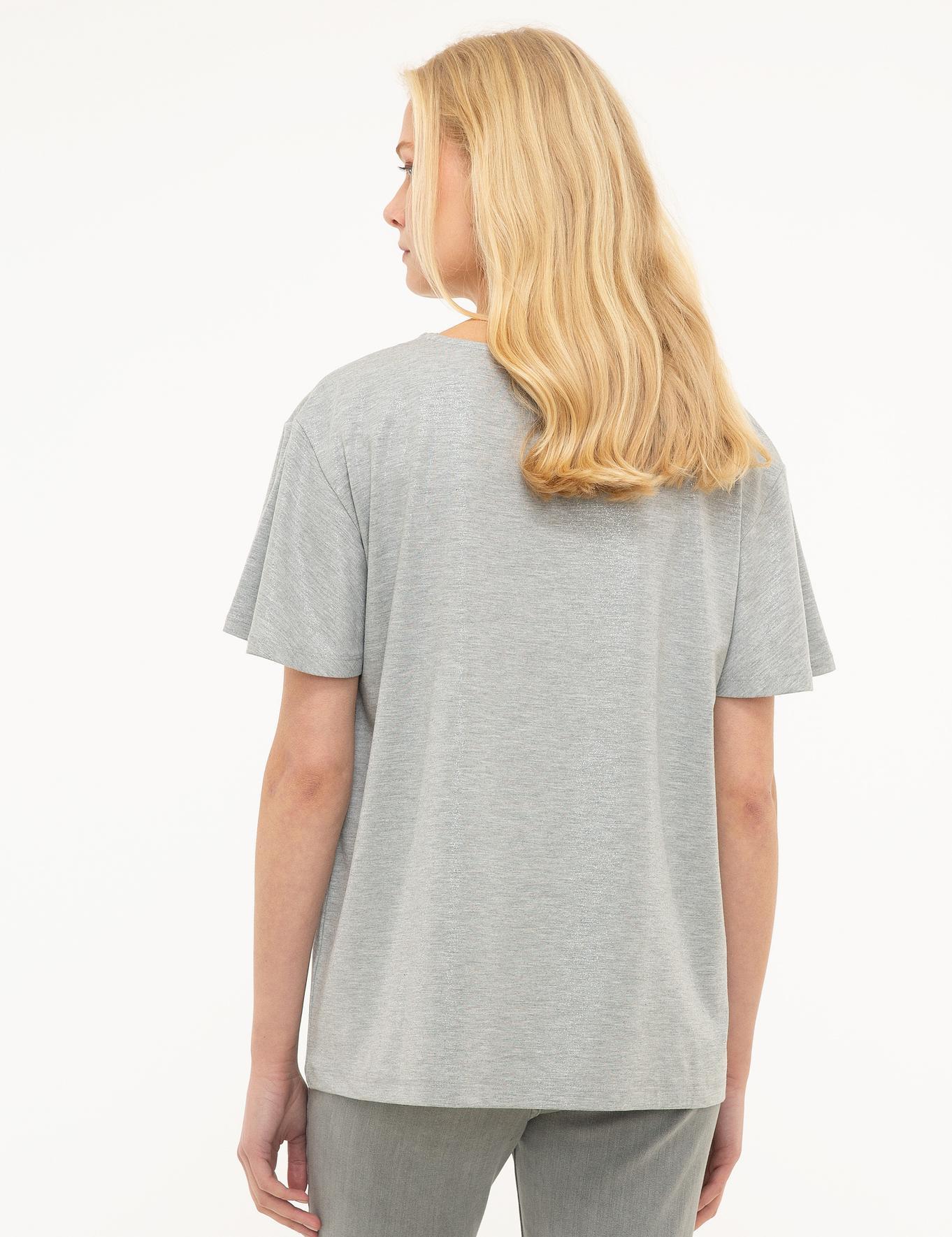 Açık Gri T-Shirt