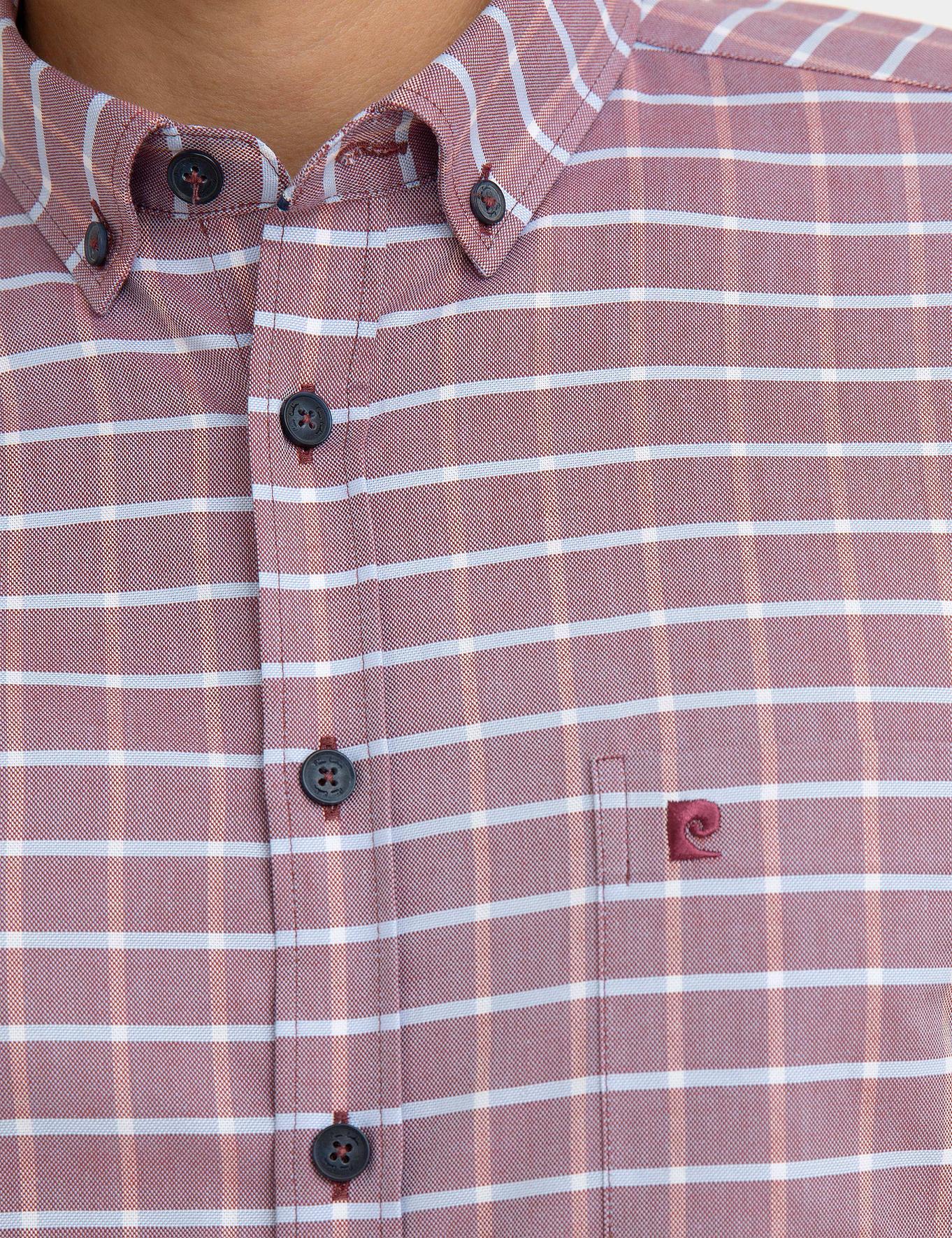 Kırmızı Regular Fit Gömlek
