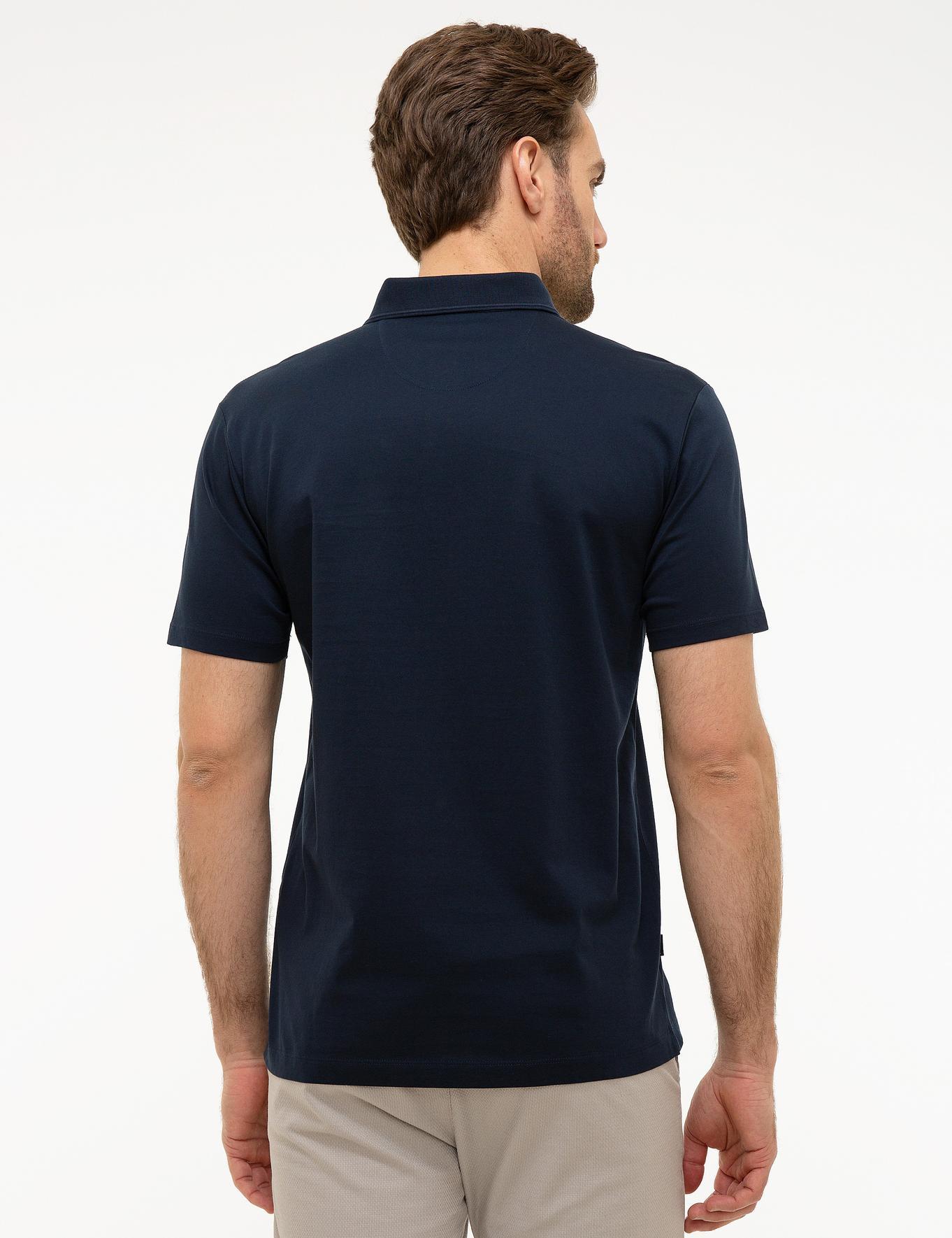 Koyu Lacivert Regular Fit T-Shirt