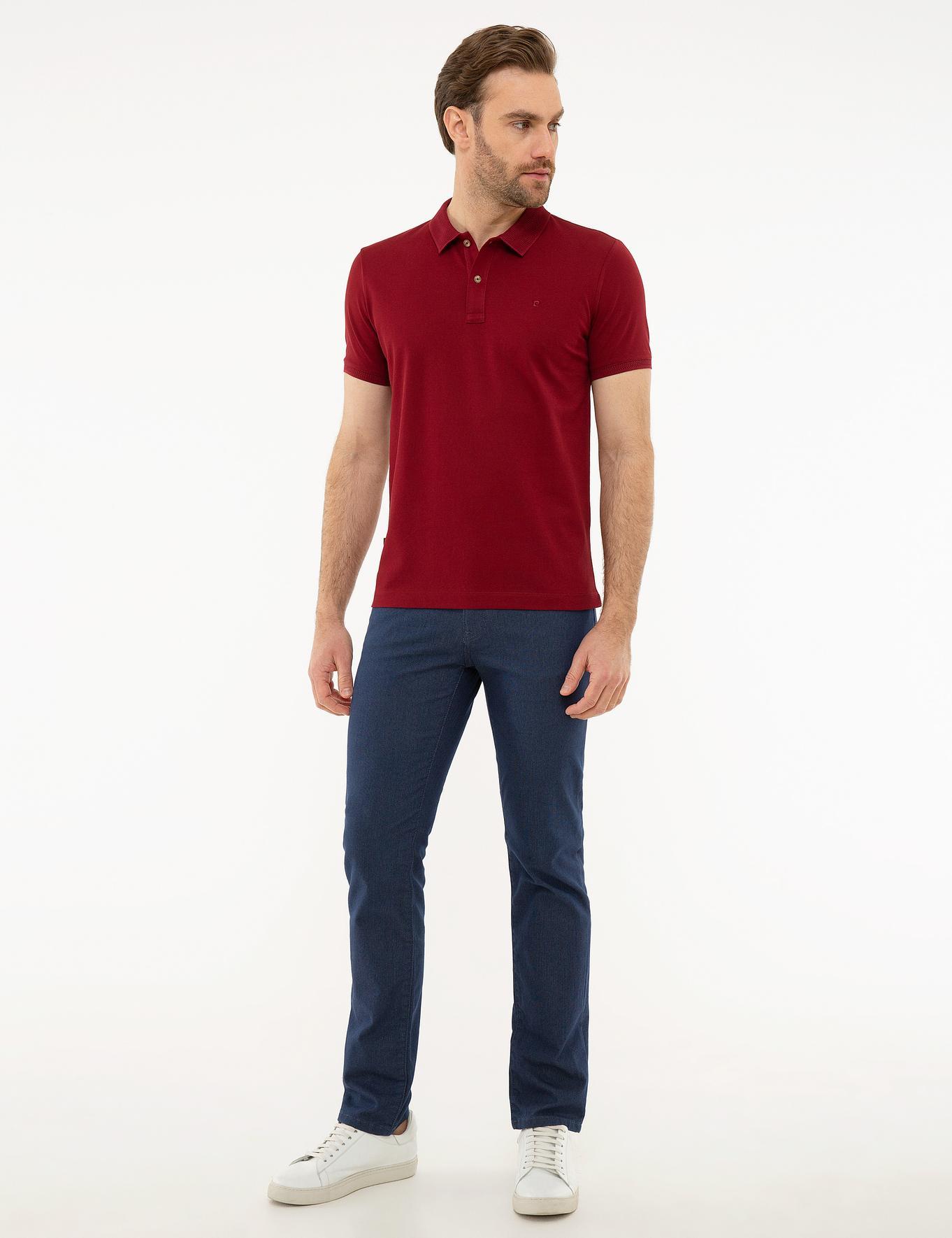 Bordo Slim Fit Merserize T-Shirt