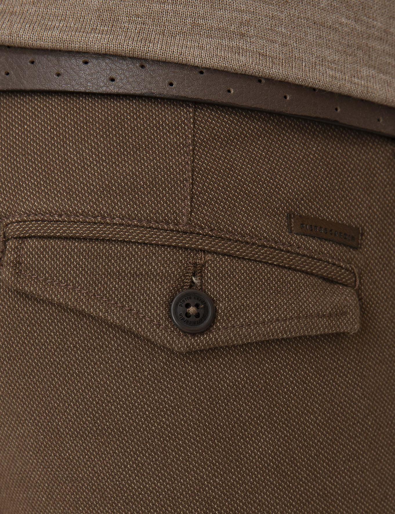 Açık Kahverengi Slim Fit Chino Pantolon