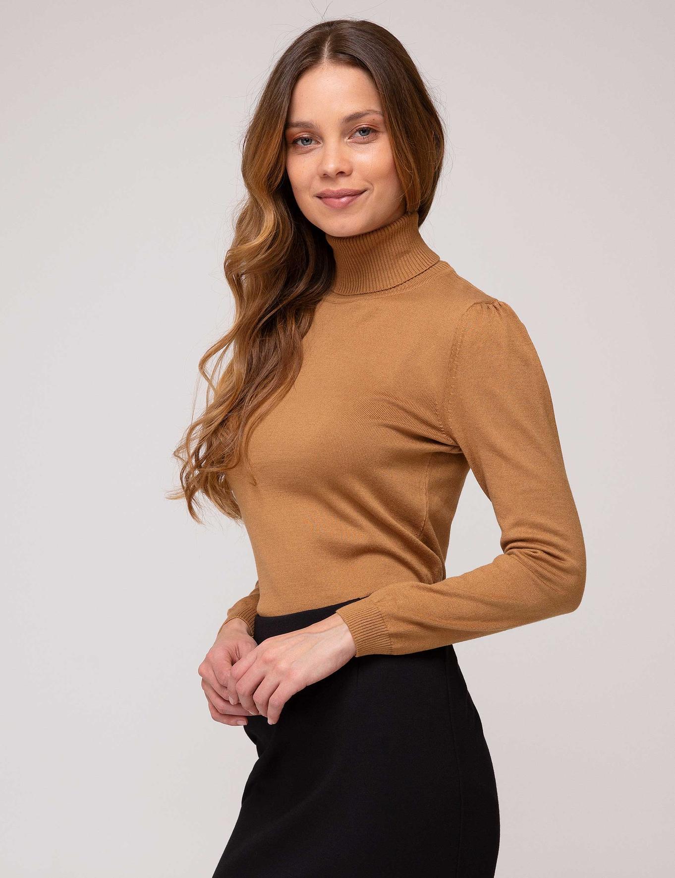 Kahverengi Triko Kazak