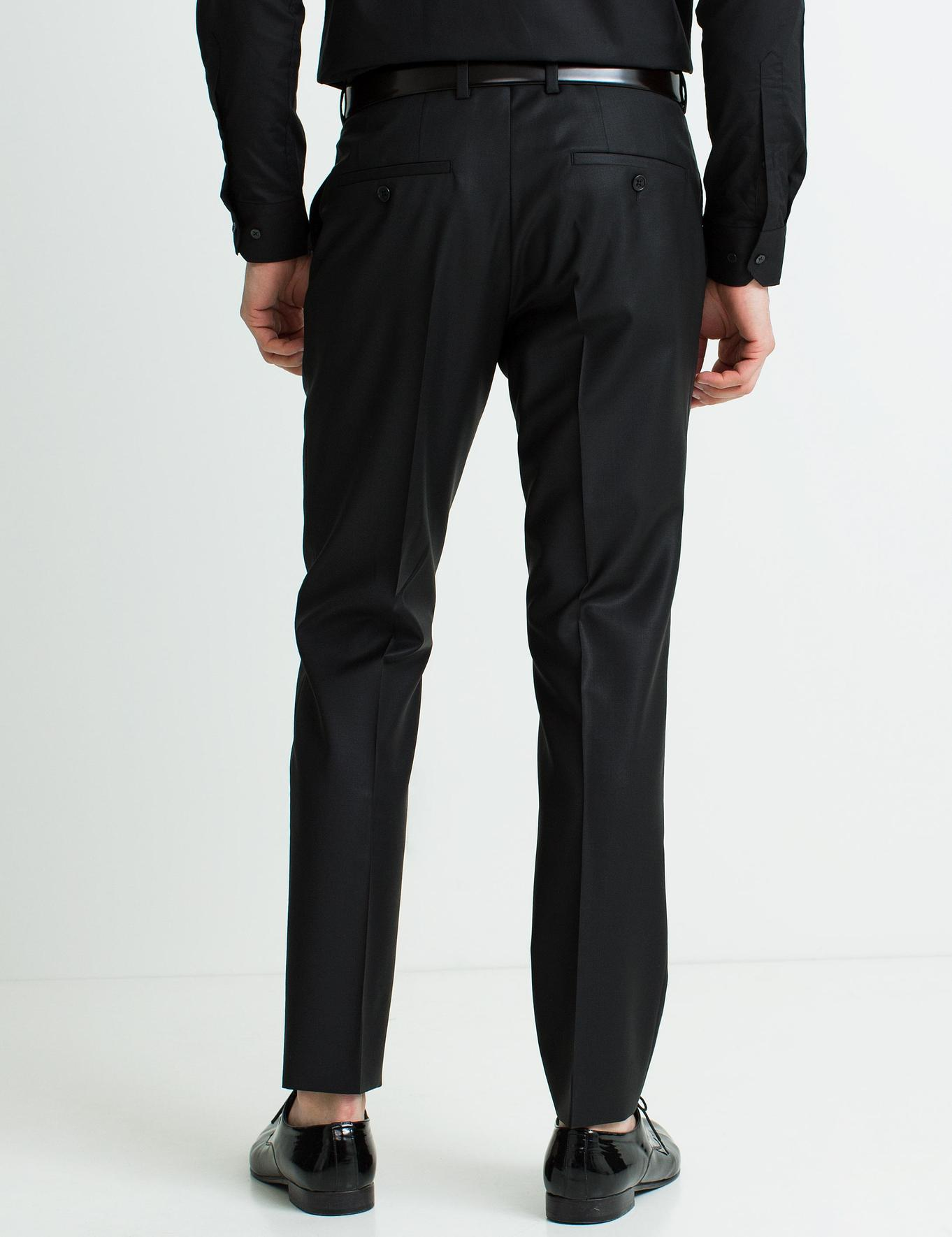 Siyah Slim Fit Pantolon
