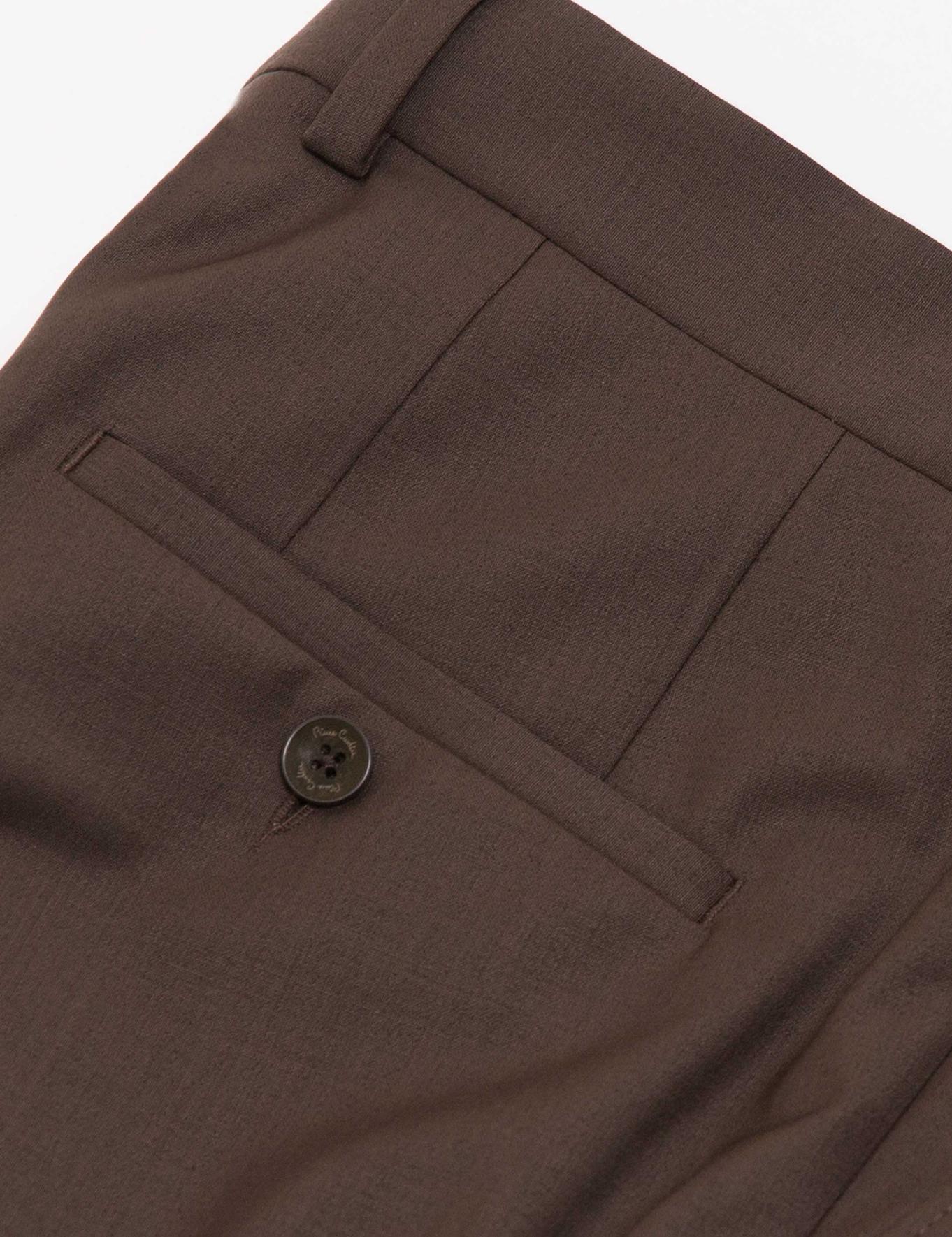 Açık Kahverengi Slim Fit Pantolon