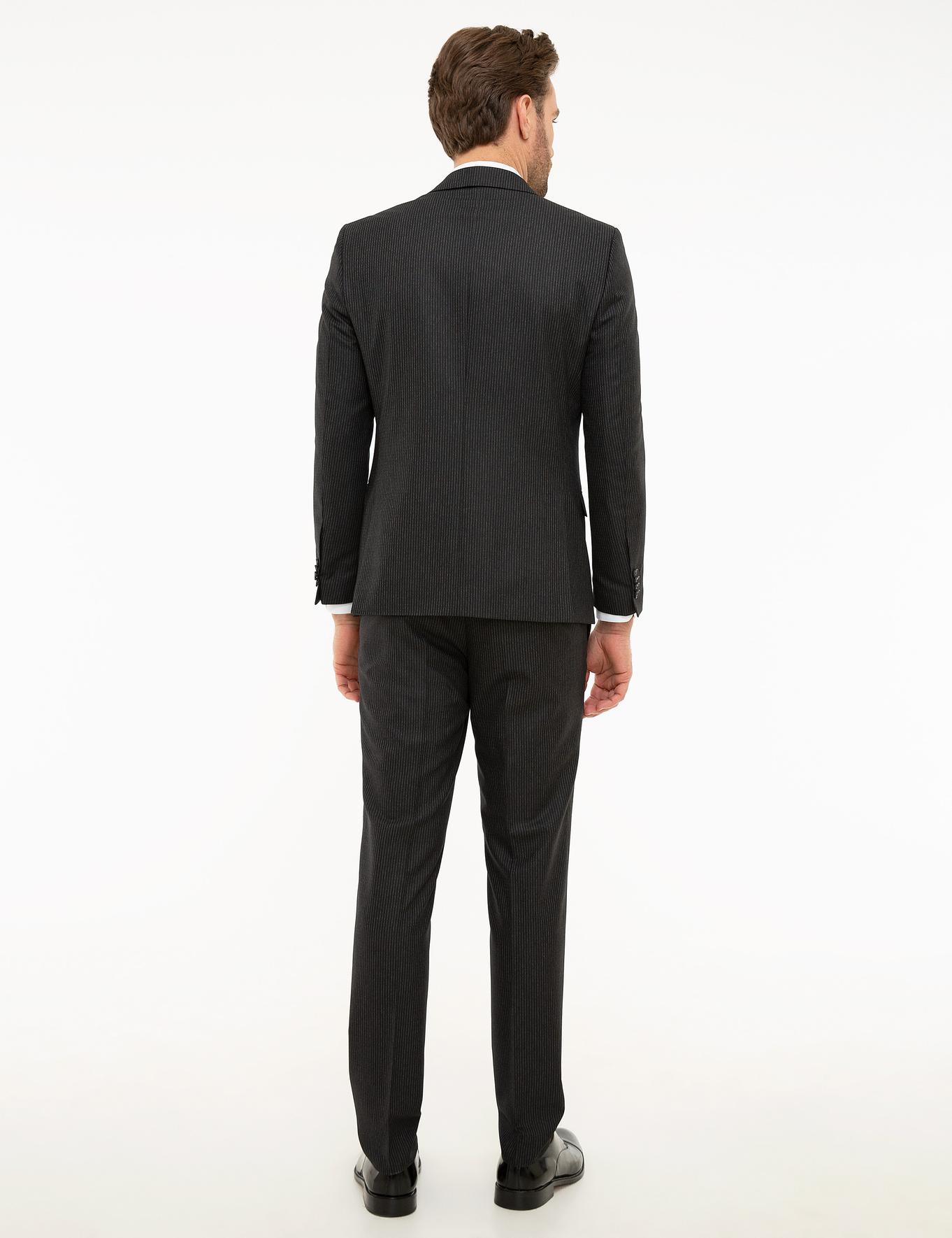 Lacivert Ekstra Slim Fit Takım Elbise
