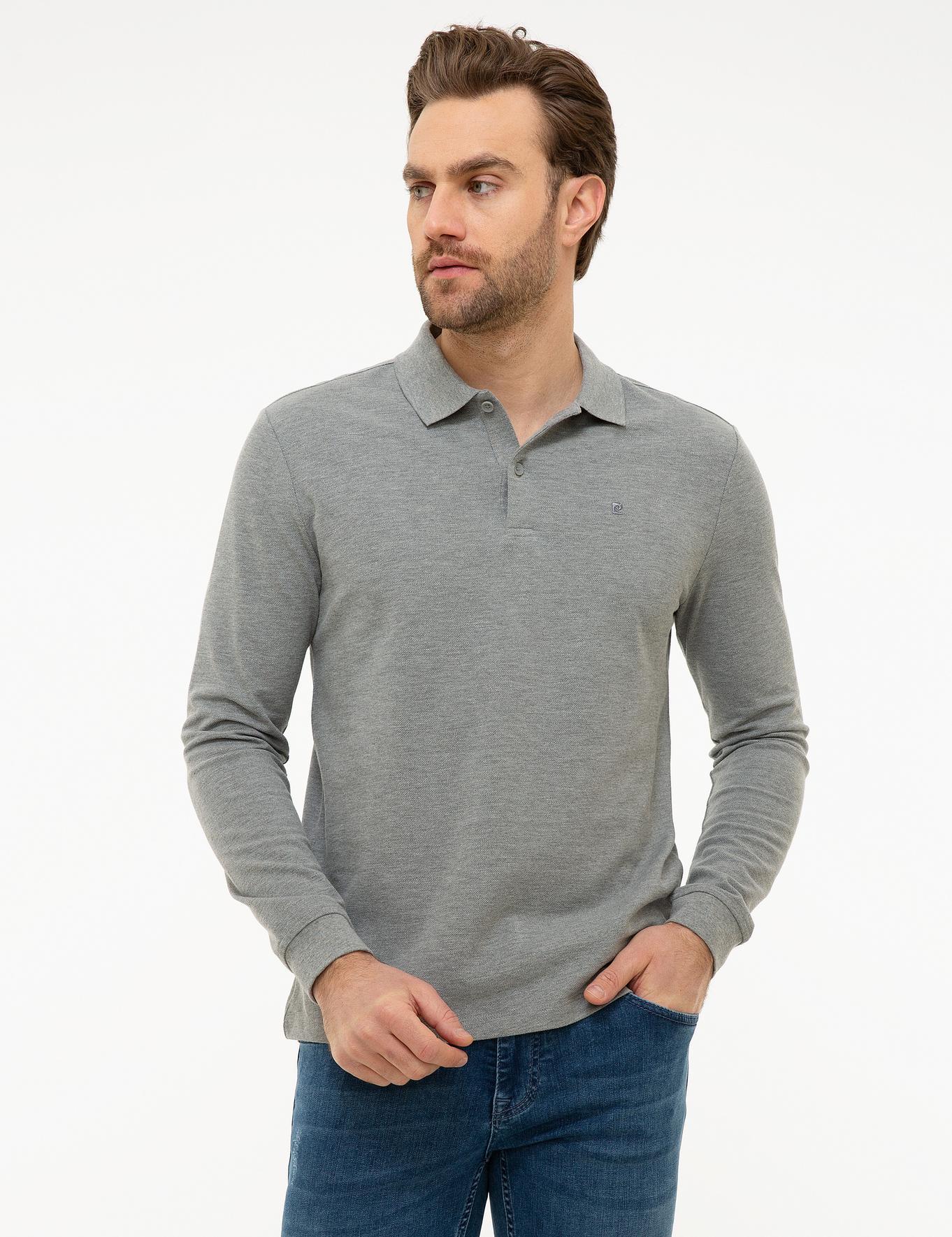 Gri Melanj Slim Fit Sweatshirt