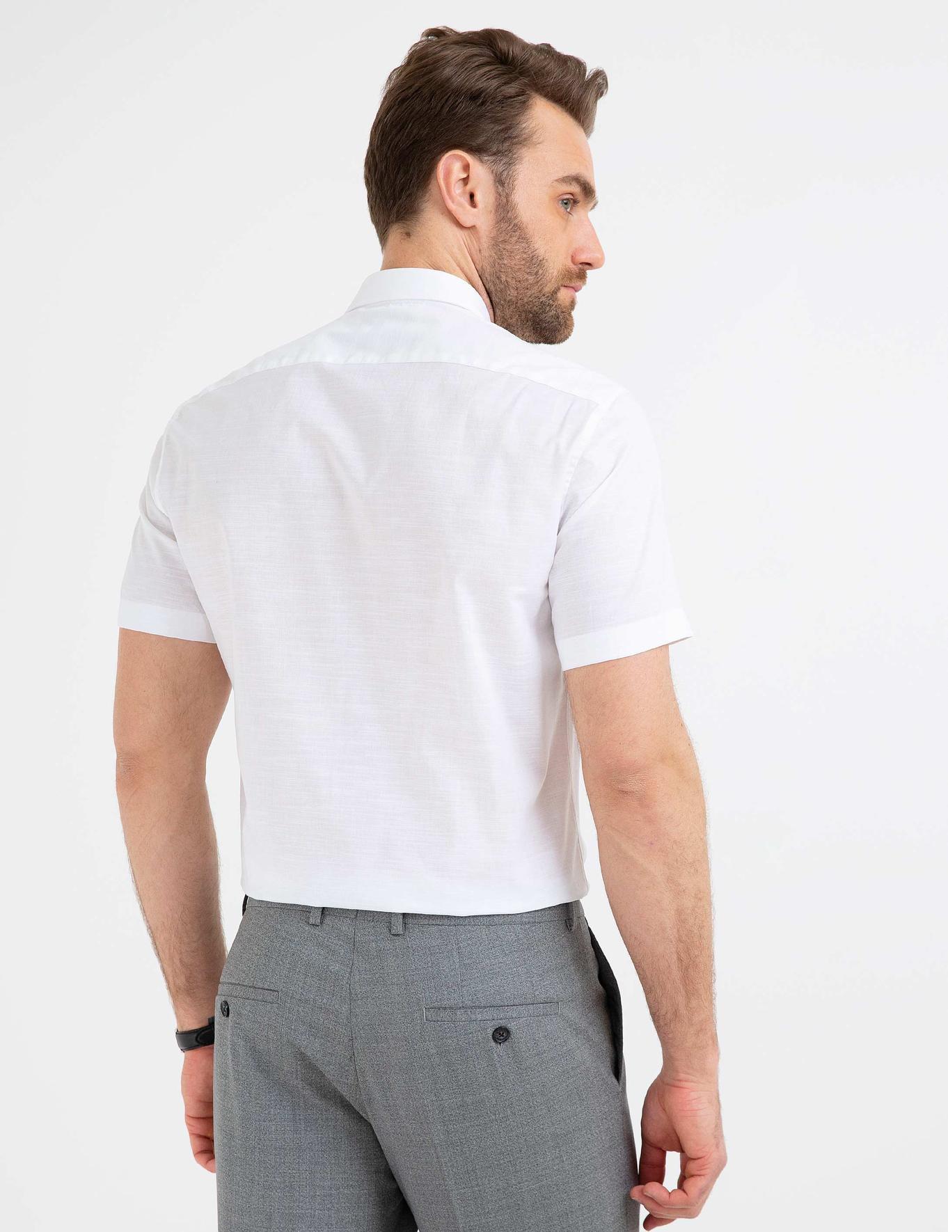 Regular Beyaz Gömlek