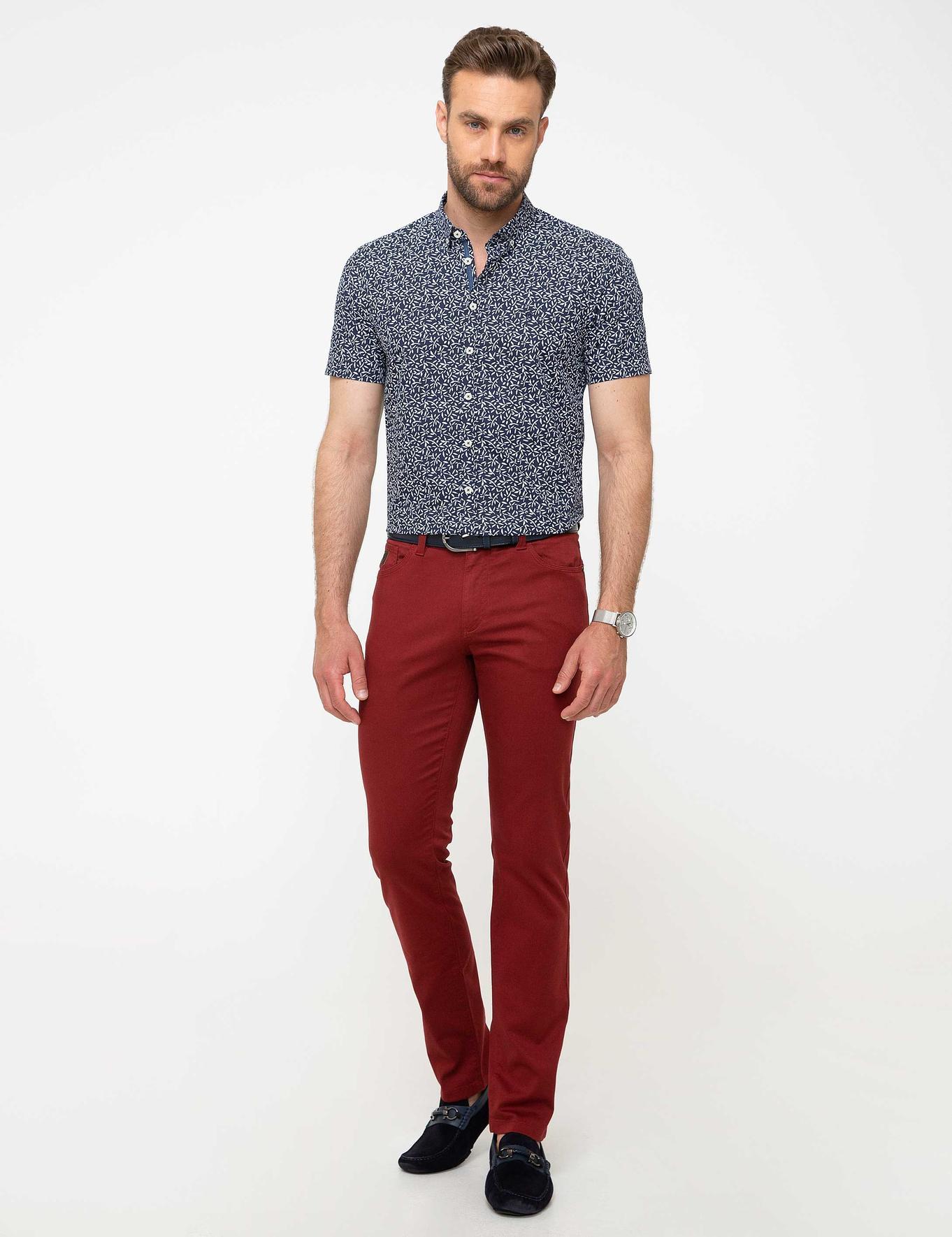 Kırmızı Chino Pantolon