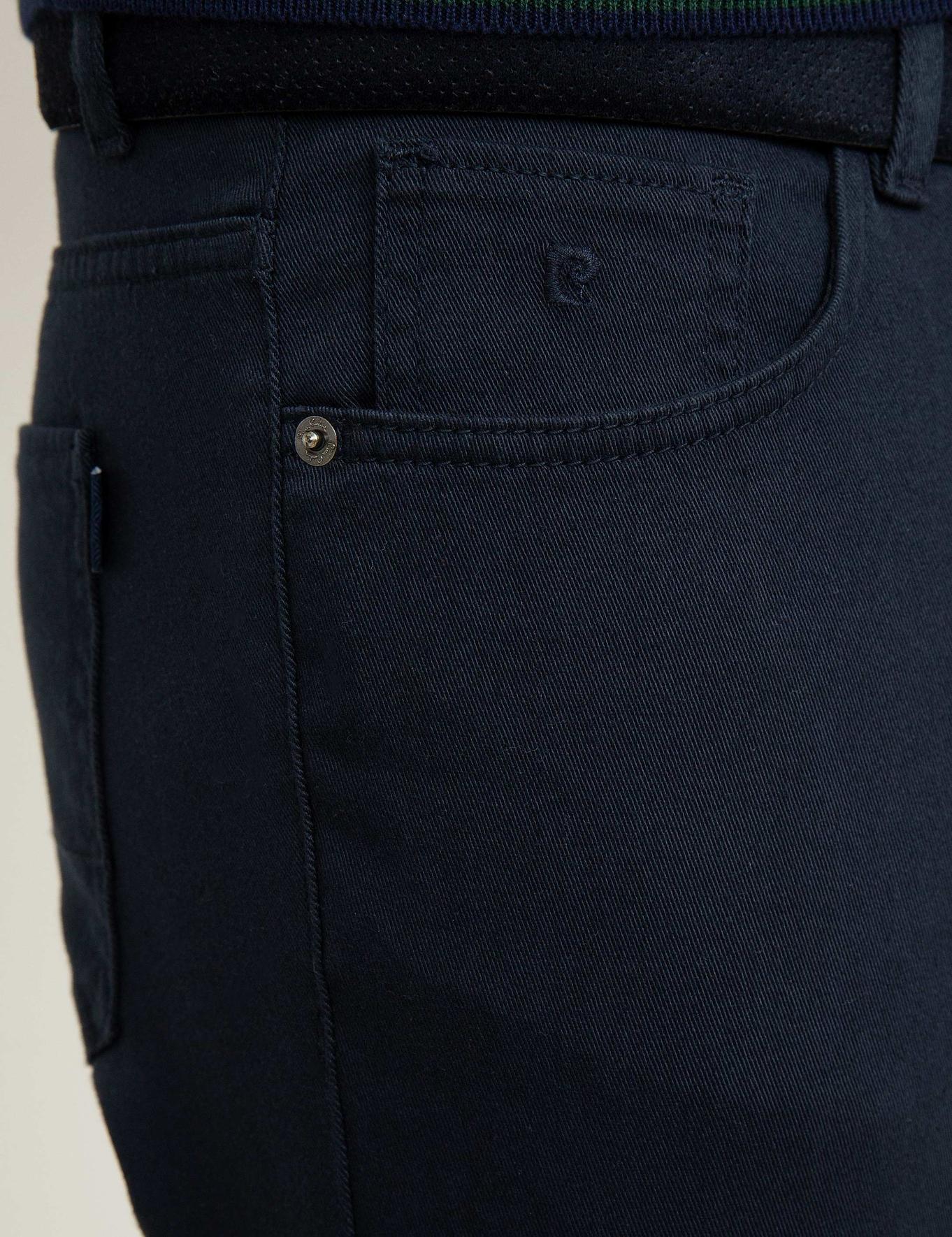 Lacivert Chino Pantolon