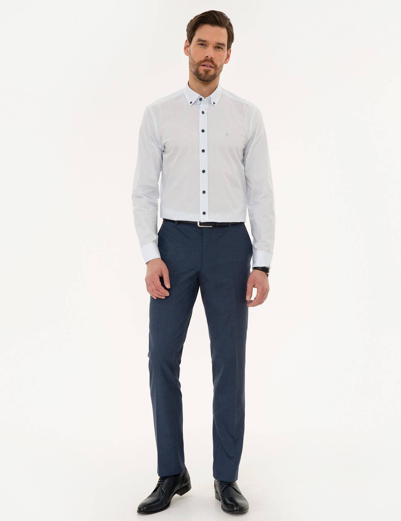 Açık Mavi Slim Fit Gömlek