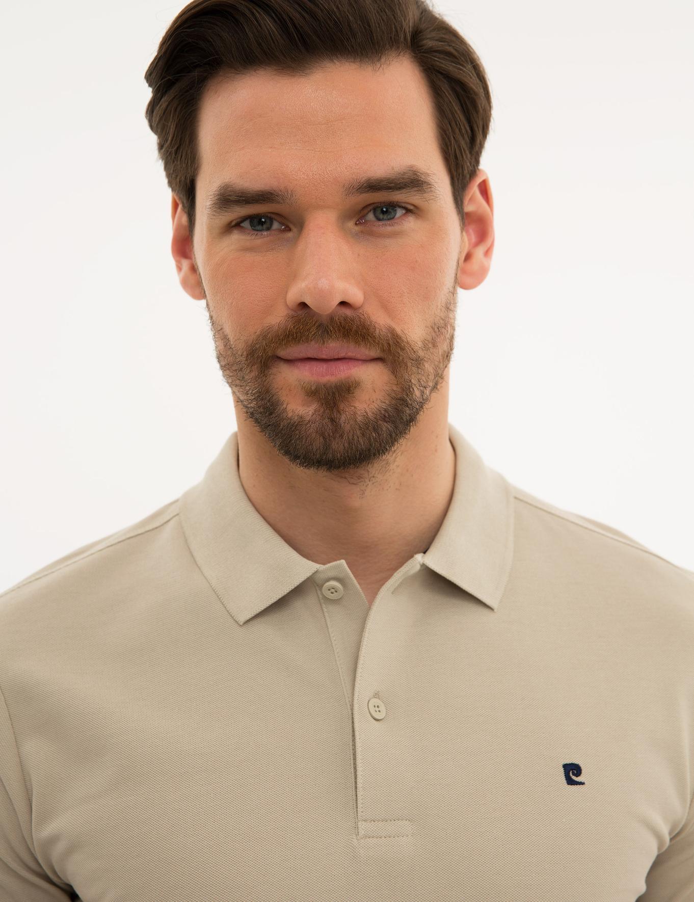 Taş Slim Fit Polo Yaka T-Shirt