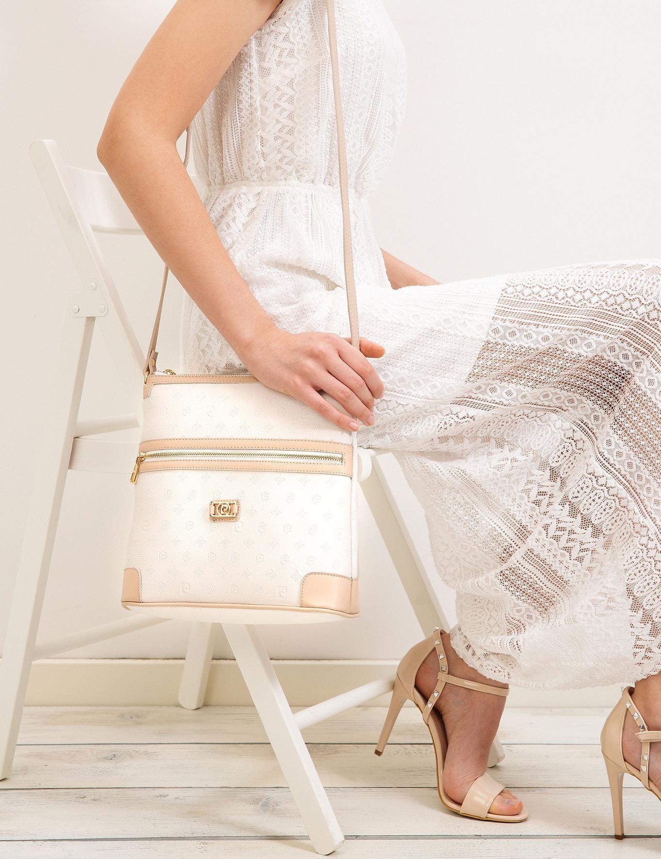Beyaz Çapraz Çanta