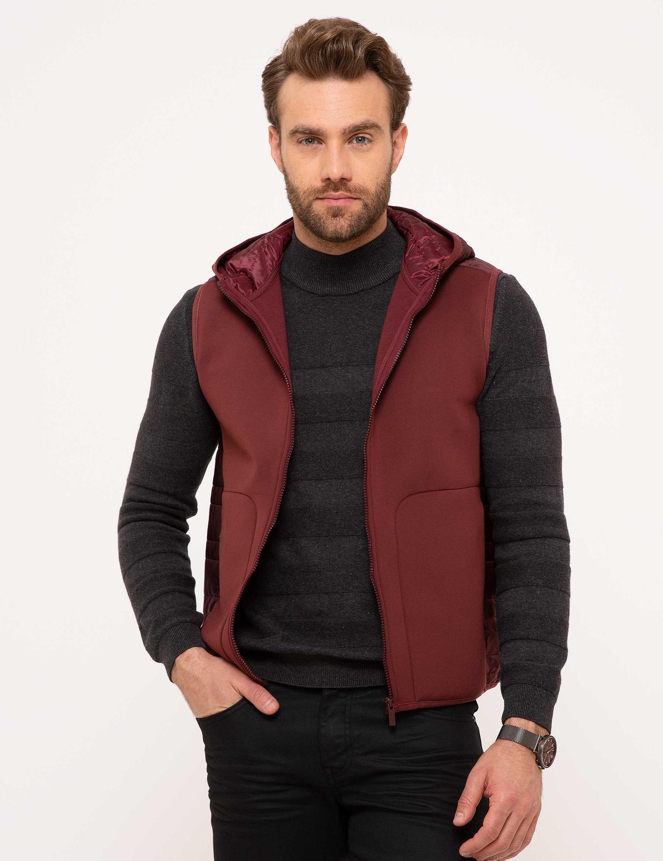 Bordo Standart Fit Sweatshirt
