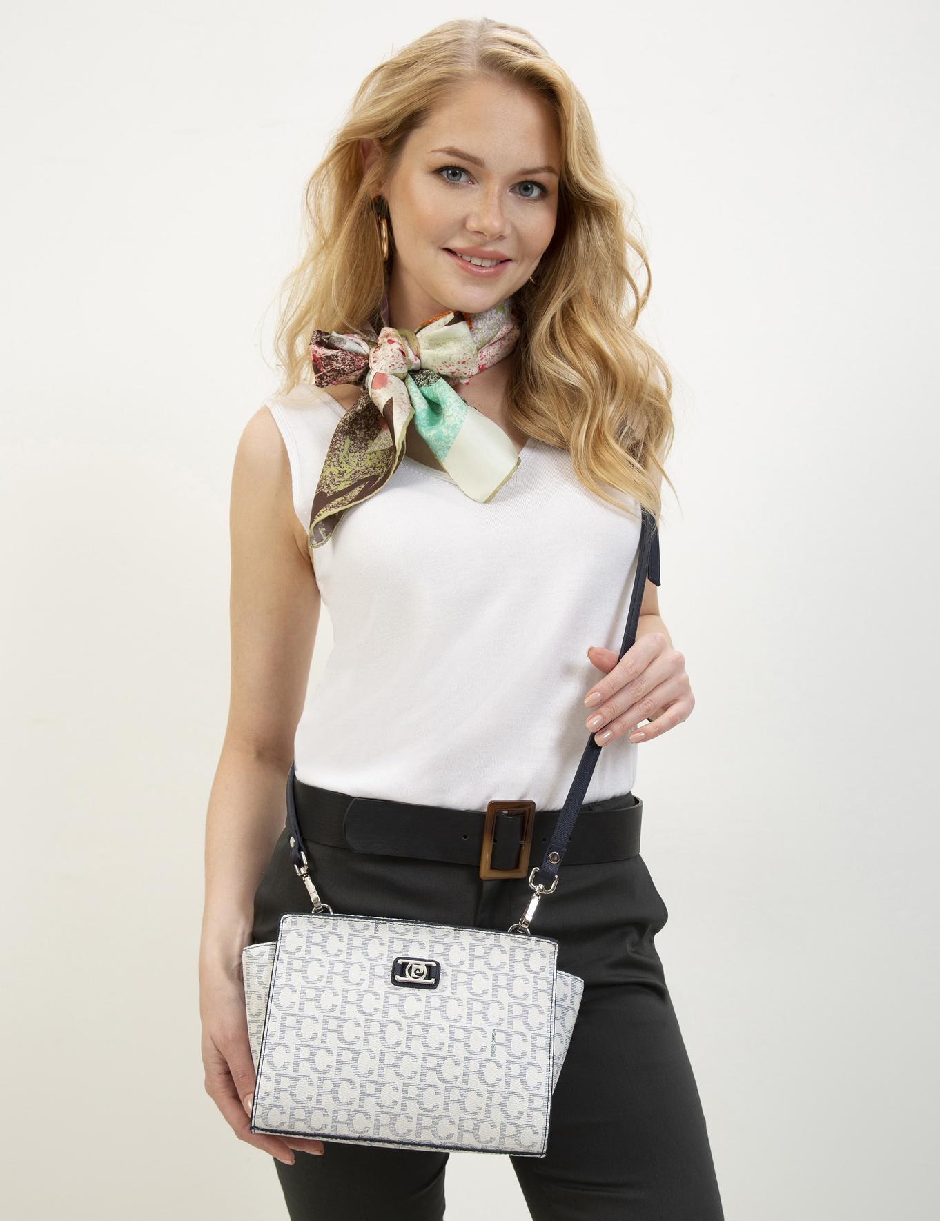 Beyaz Omuz Çanta