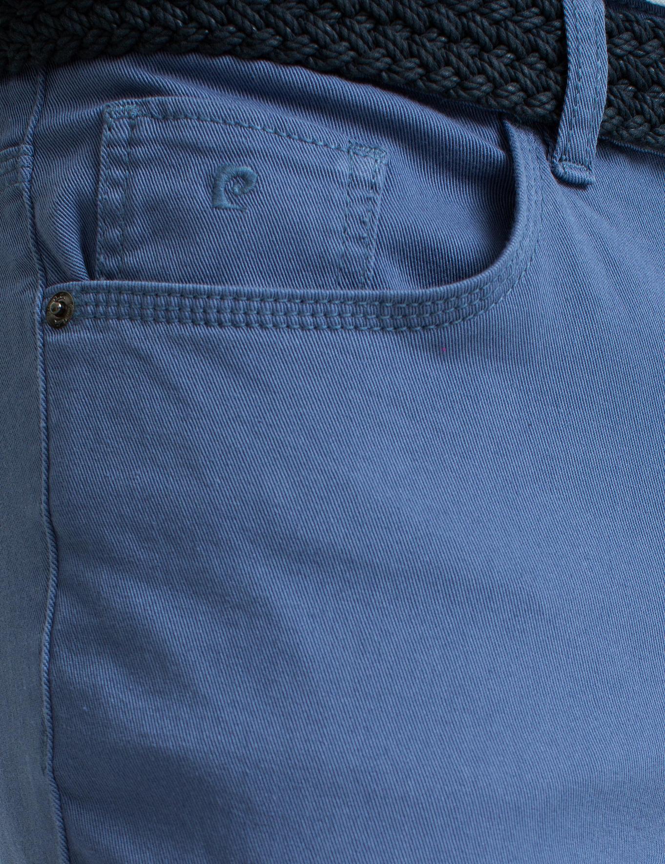 Petrol Mavi Slim Fit Chino Pantolon
