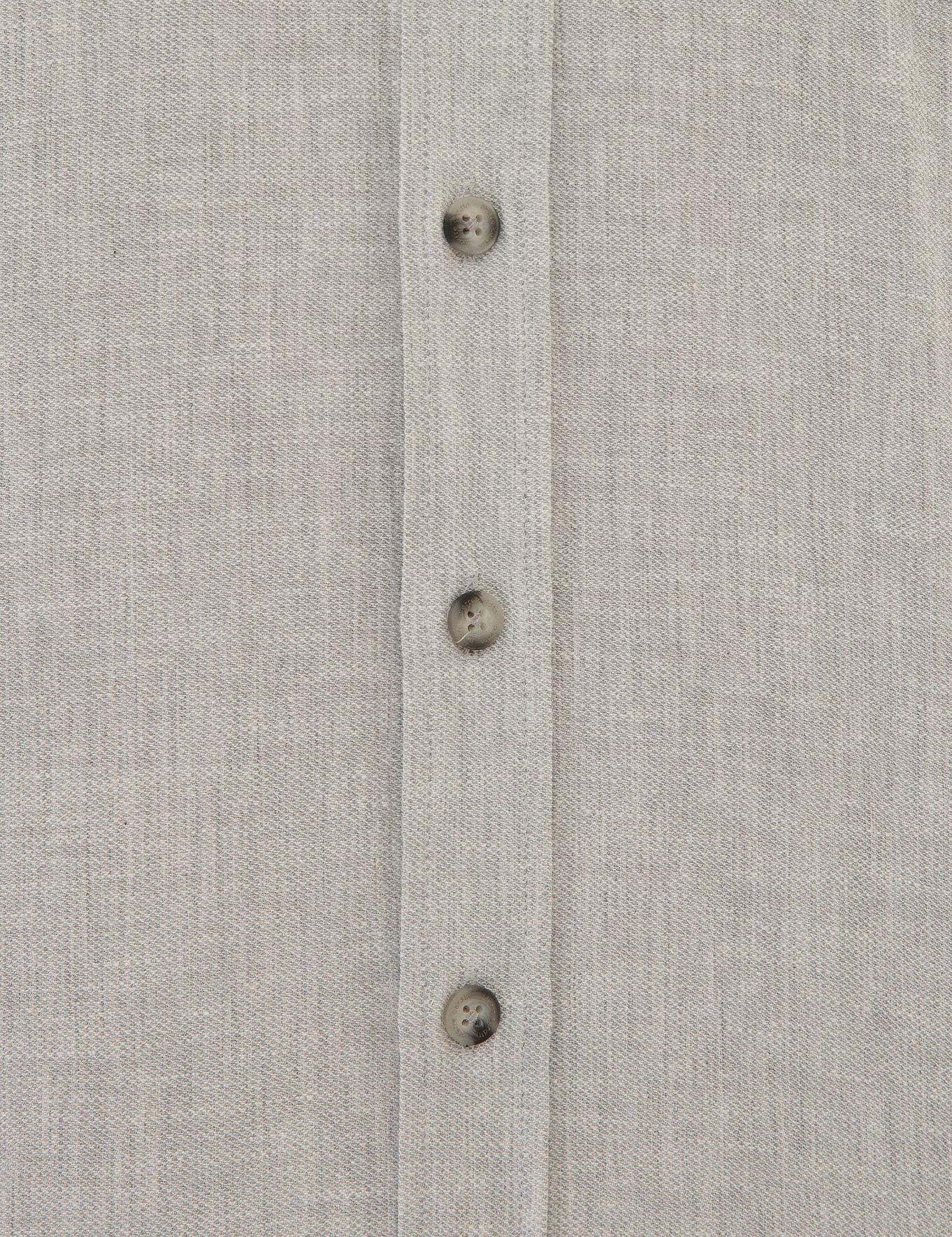 Açık Gri Regular Fit Gömlek