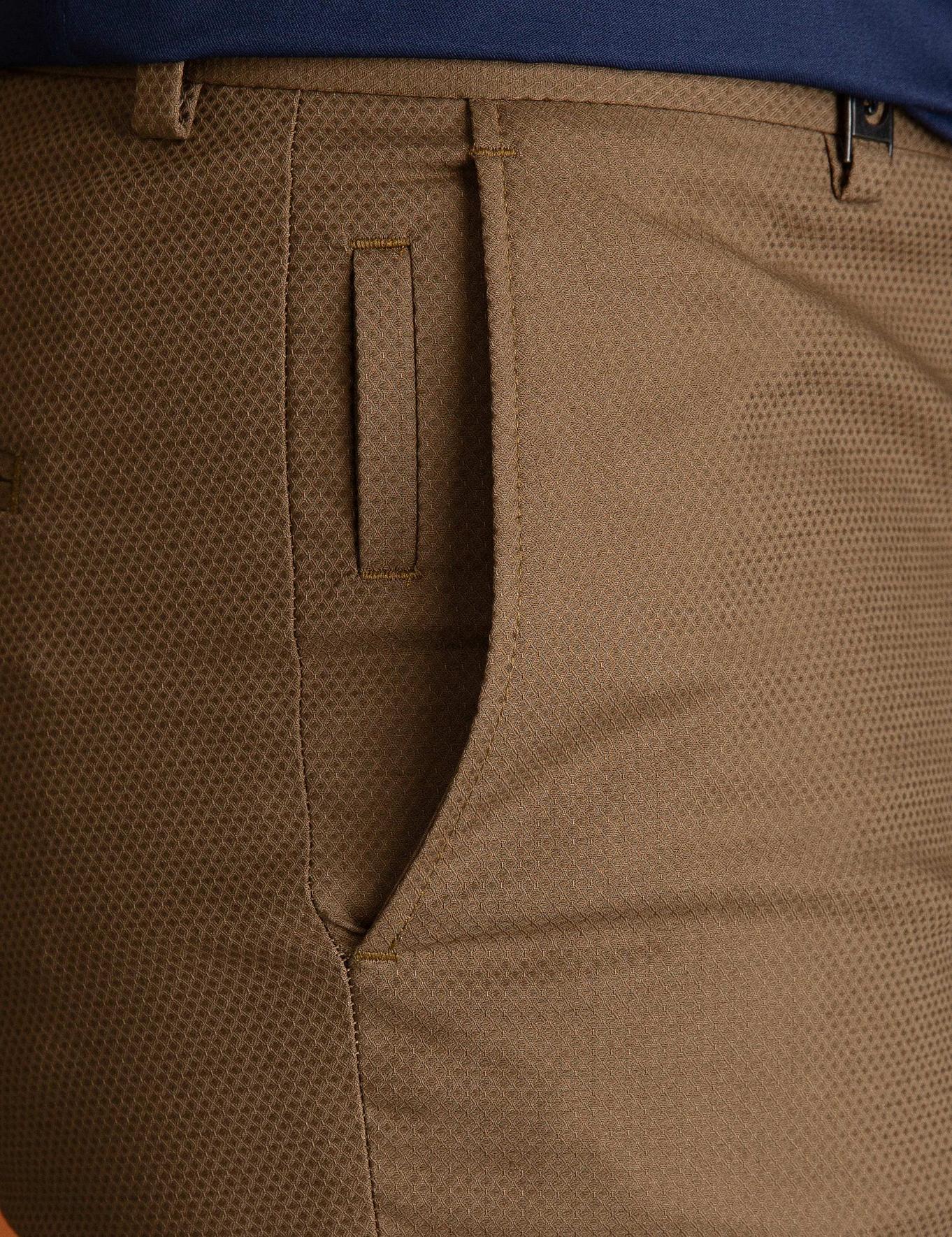 Kahverengi Ekstra Slim Fit Pantolon