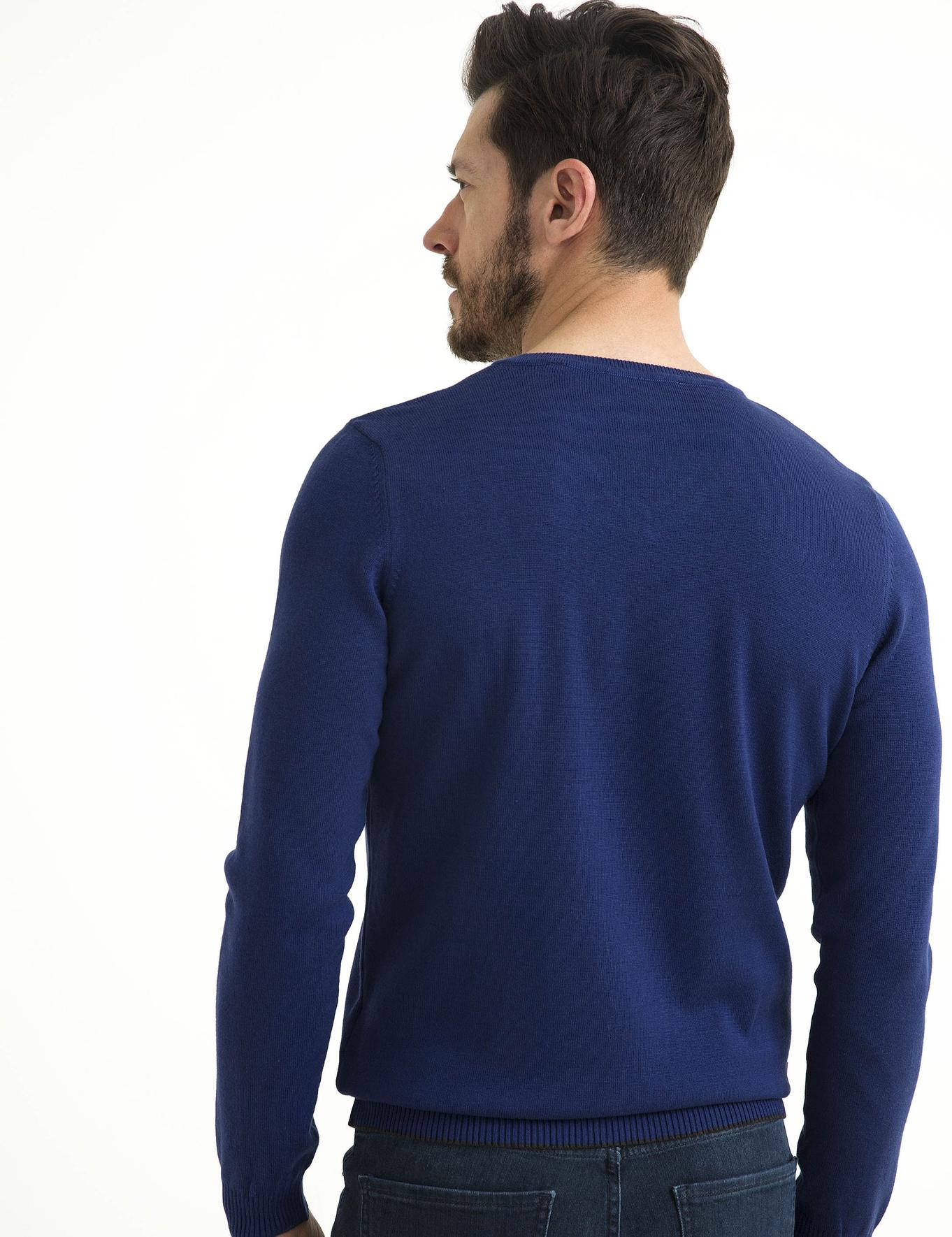 Mavi Slim Fit Basic Triko Kazak