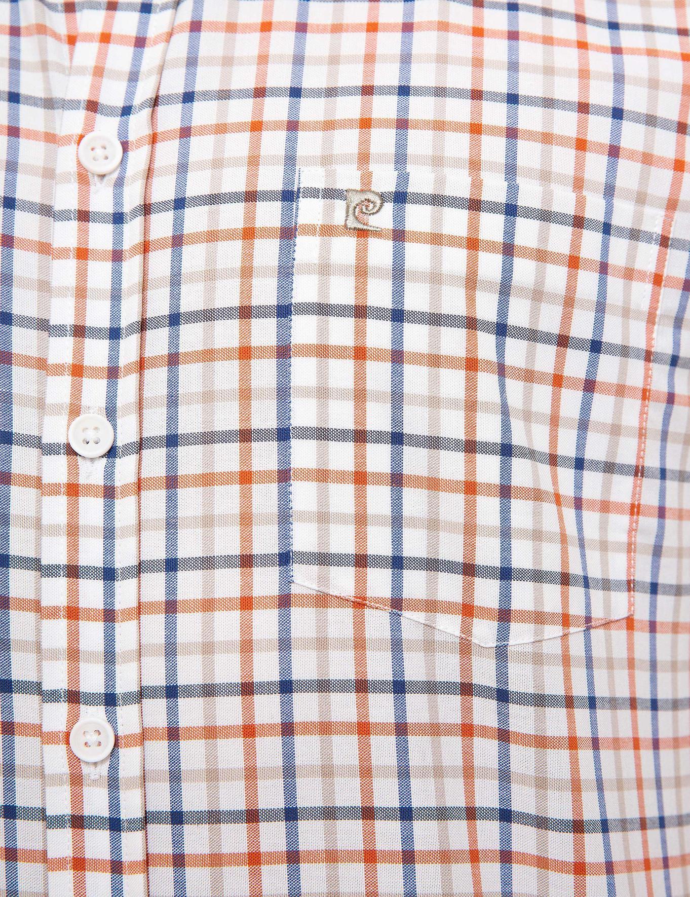 Turuncu Regular Fit Kısa Kollu Gömlek