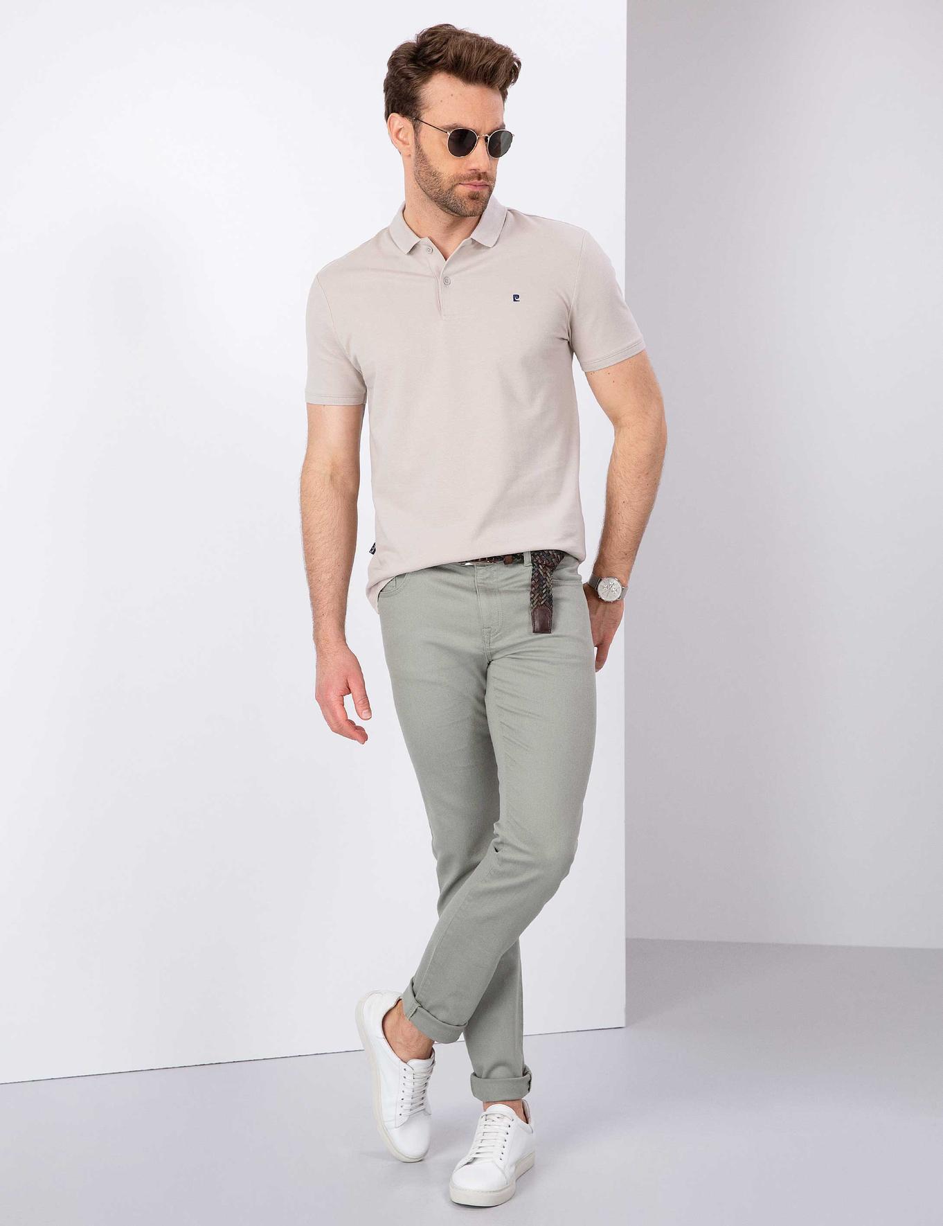 Taş Slim Fit Basic Polo Yaka T-Shirt