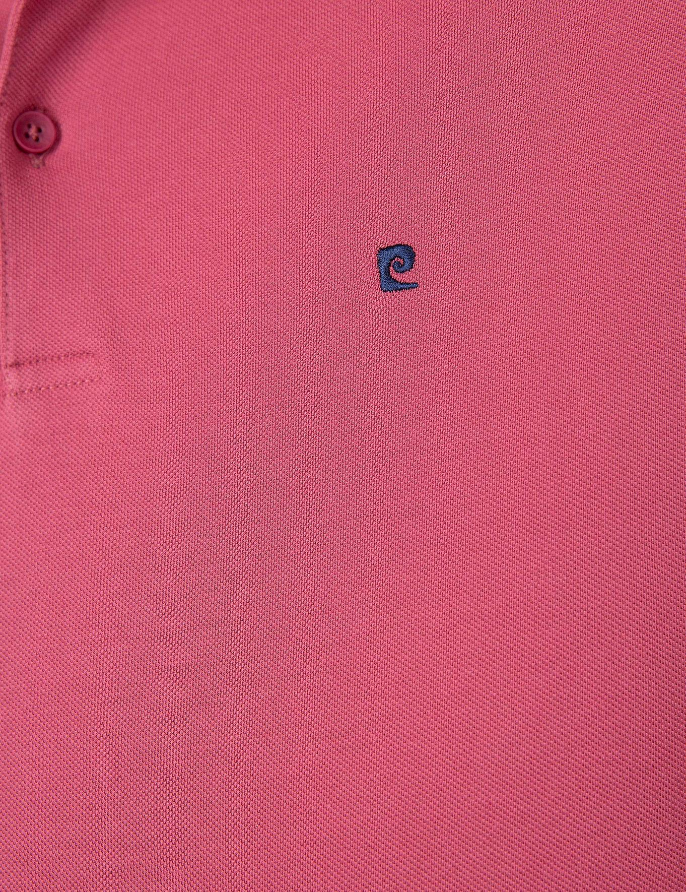 Gül Kurusu Slim Fit Polo Yaka  T-Shirt