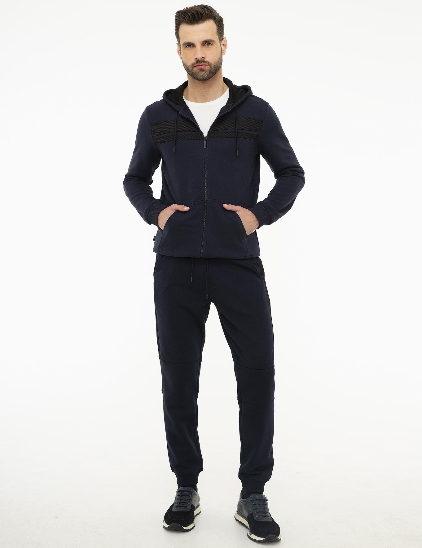 Lacivert Regular Fit Sweatshirt
