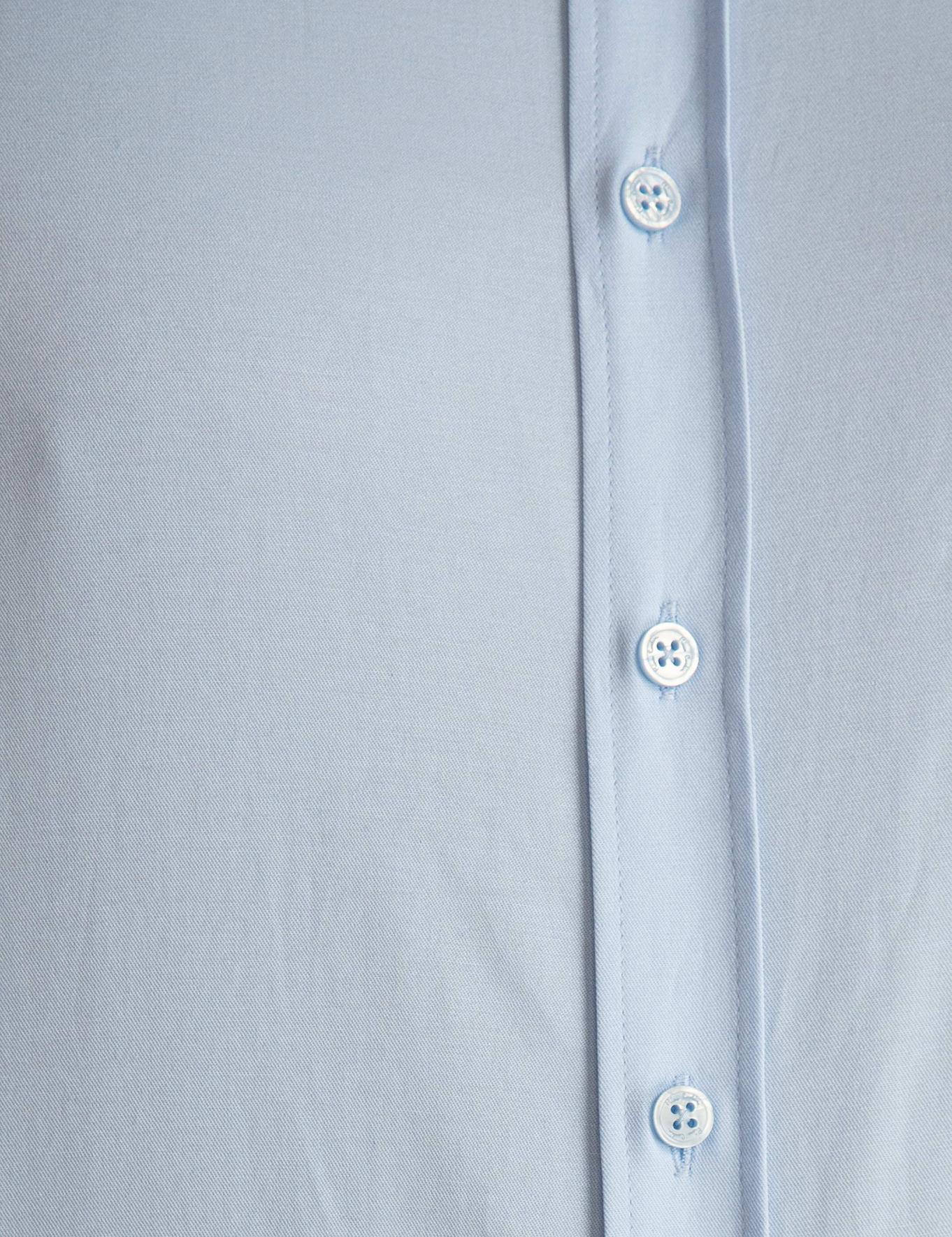 Açık Mavi Regular Fit Basic Gömlek
