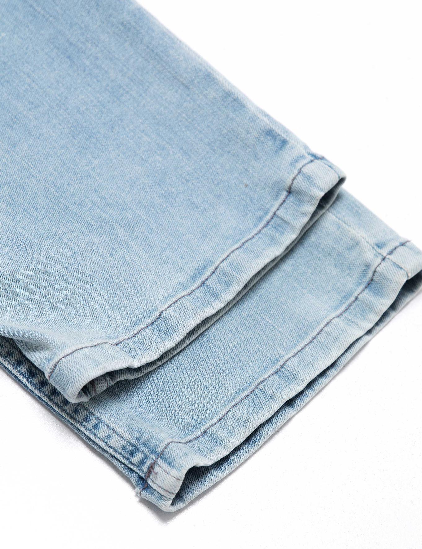 Açık Mavi Denim Pantolon