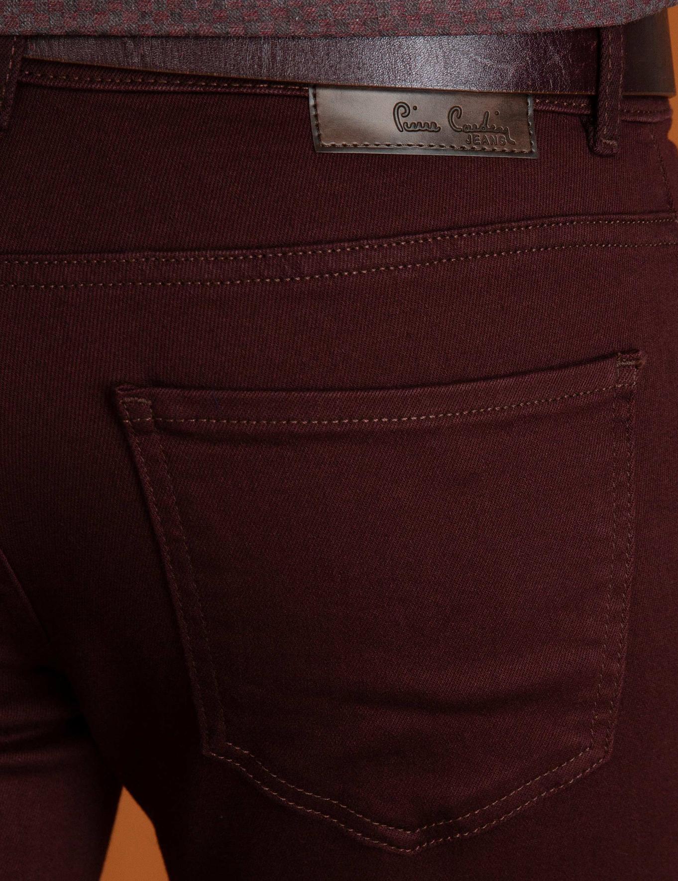 Bordo Denim Pantolon