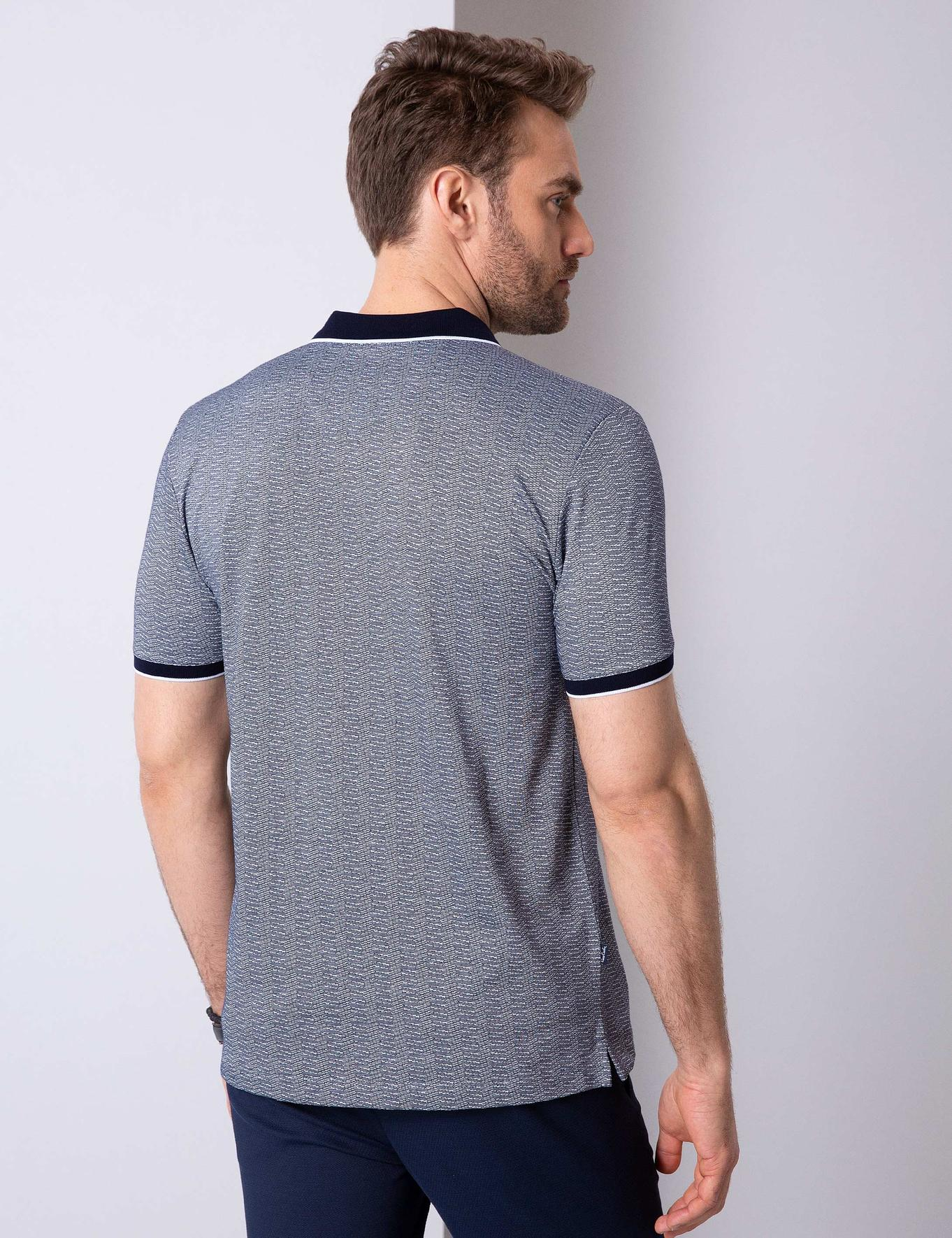 Lacivert Regular Fit T-Shirt
