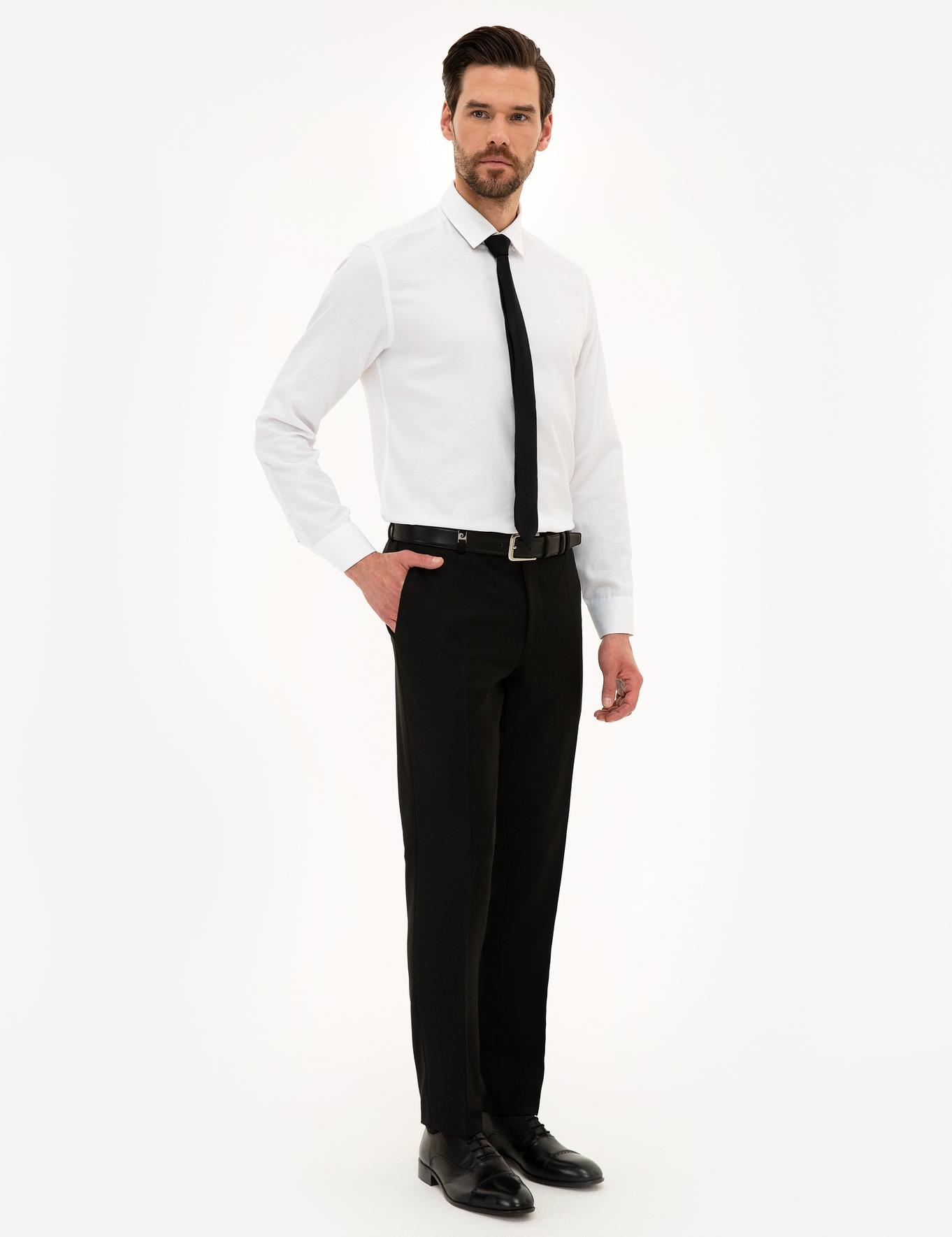 Siyah Ekstra Slim Fit Pantolon