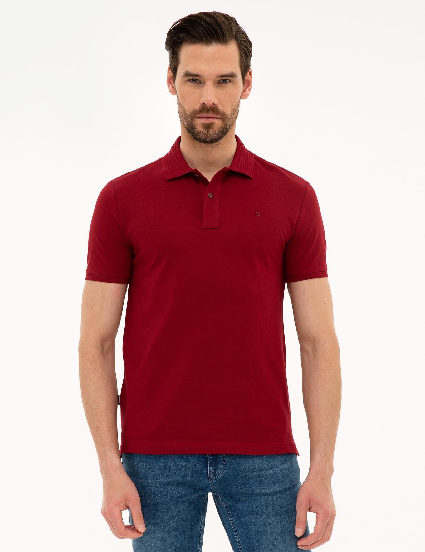 Kırmızı Slim Fit T-Shirt