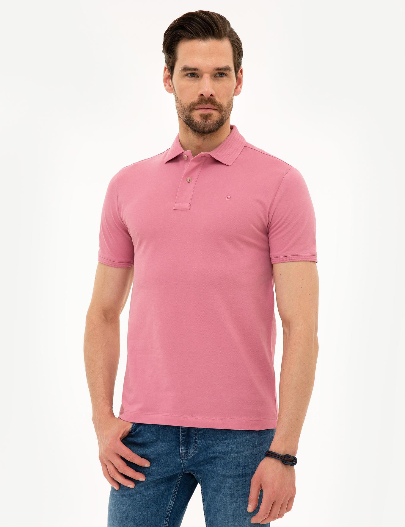 Pembe Slim Fit T-Shirt